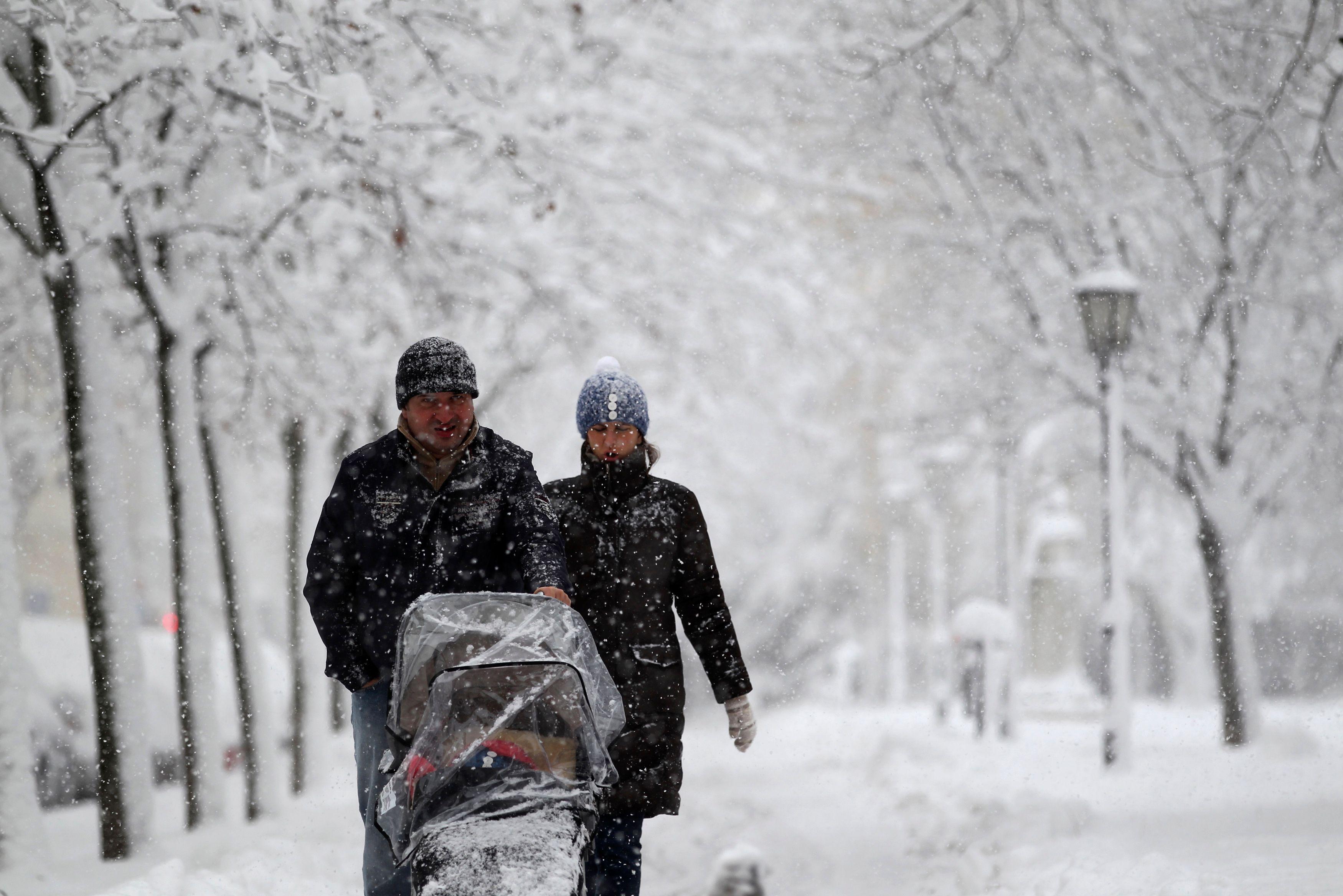 Une vague de froid intense arrive en France à partir de mardi
