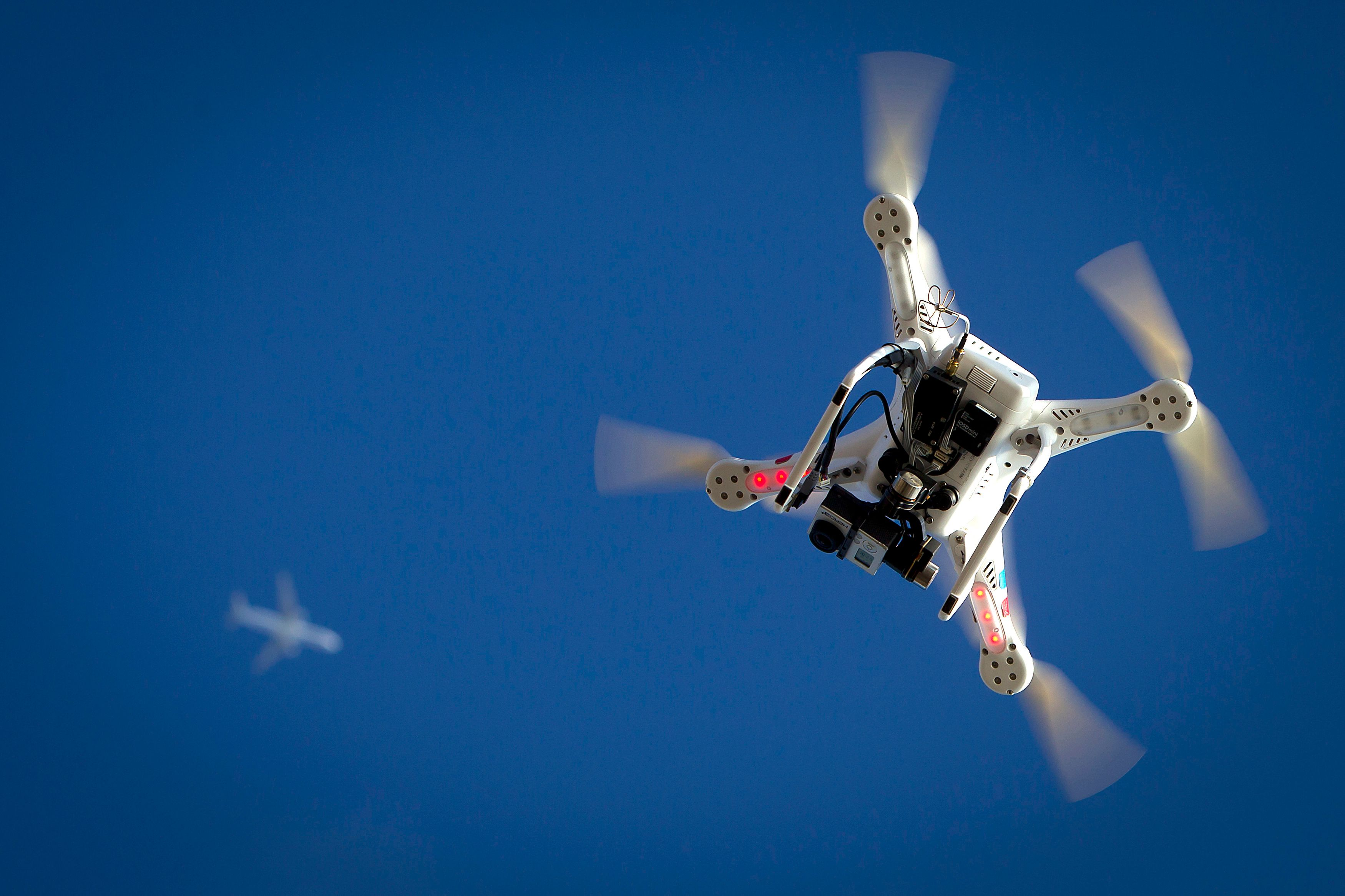 Les drones font de nouveau parler d'eux