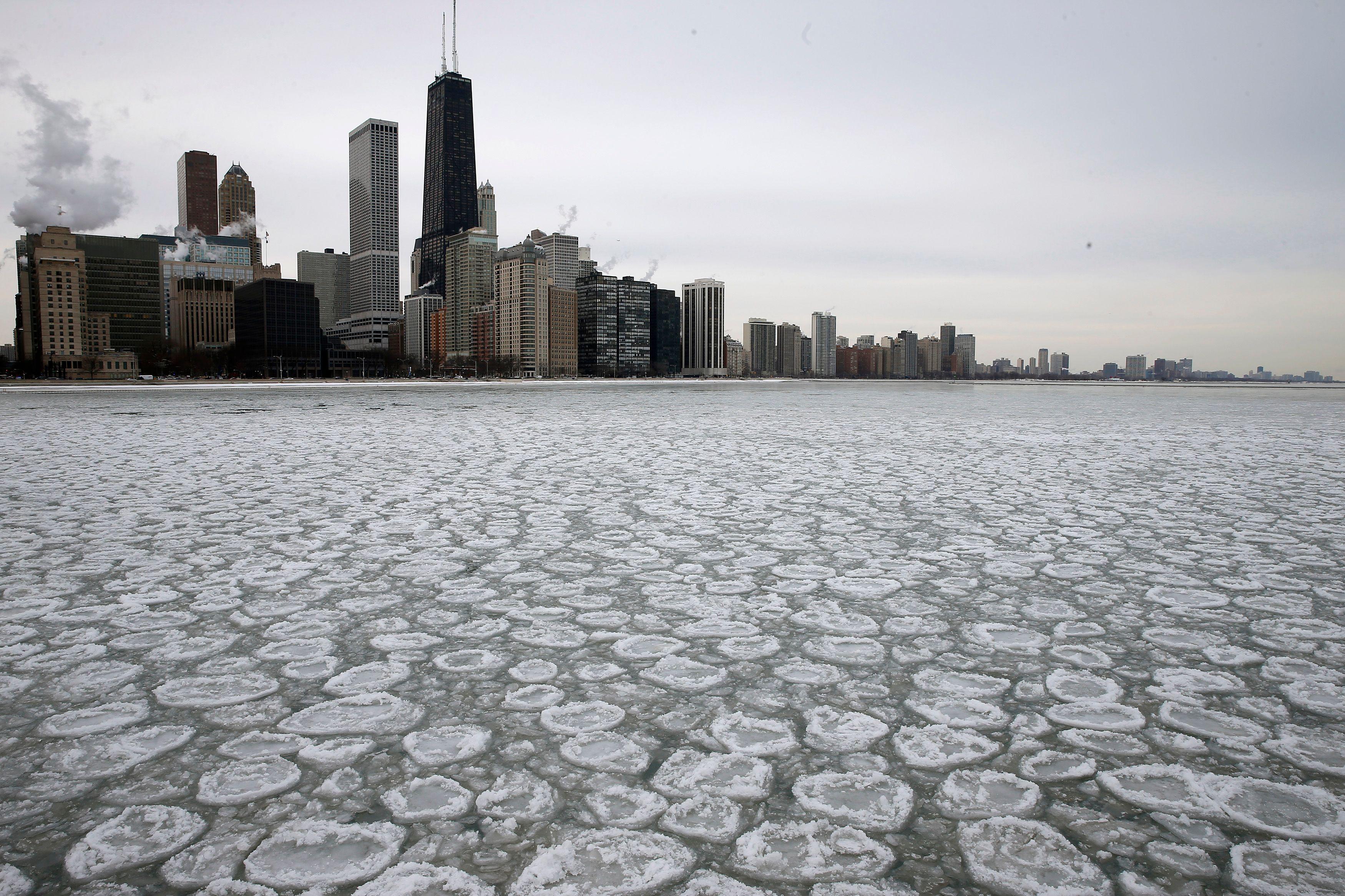 Le froid a paralysé Chicago