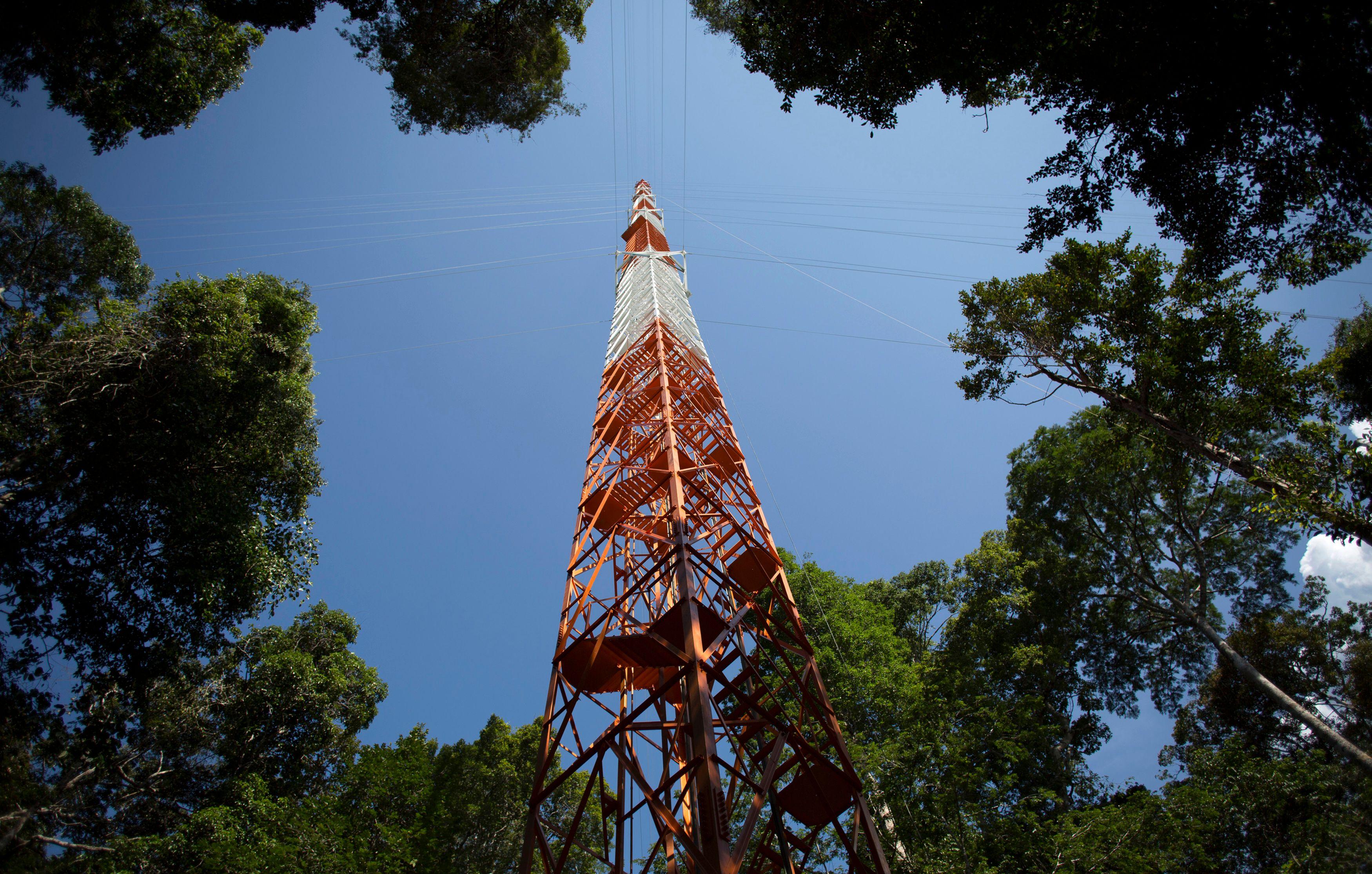 La tour d'observation géante doit permettre d'évaluer l'incidence des gaz à effet de serre sur les changements climatiques.