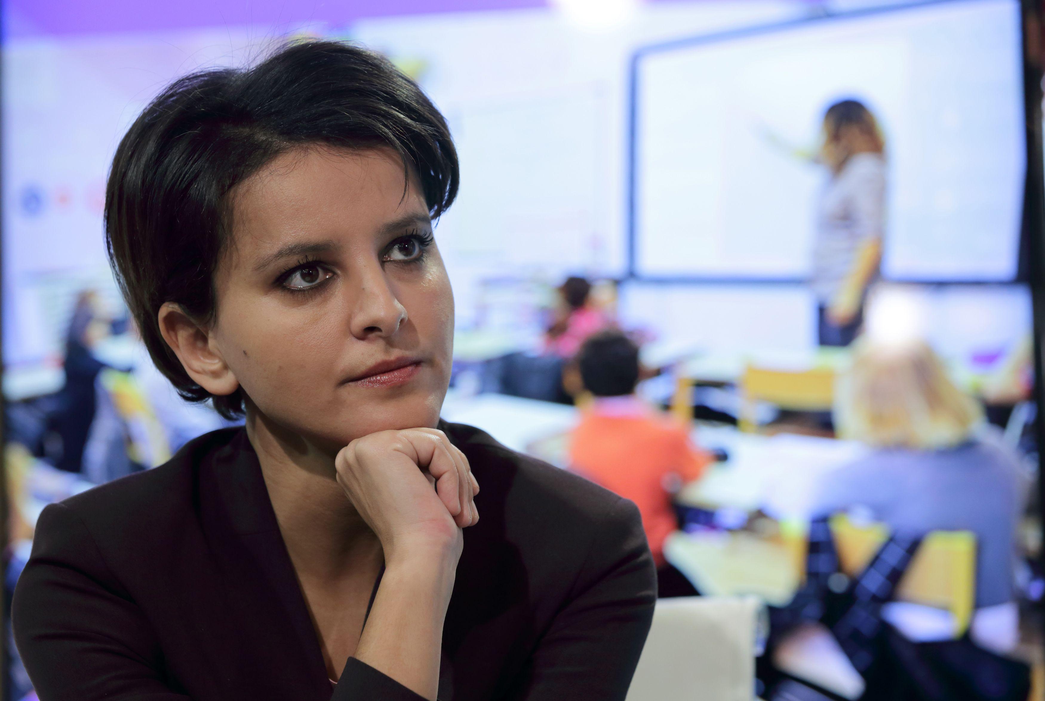 """Najat Vallaud-Belkacem en est persuadée : """"la réforme du collège s'appliquera en 2016"""""""