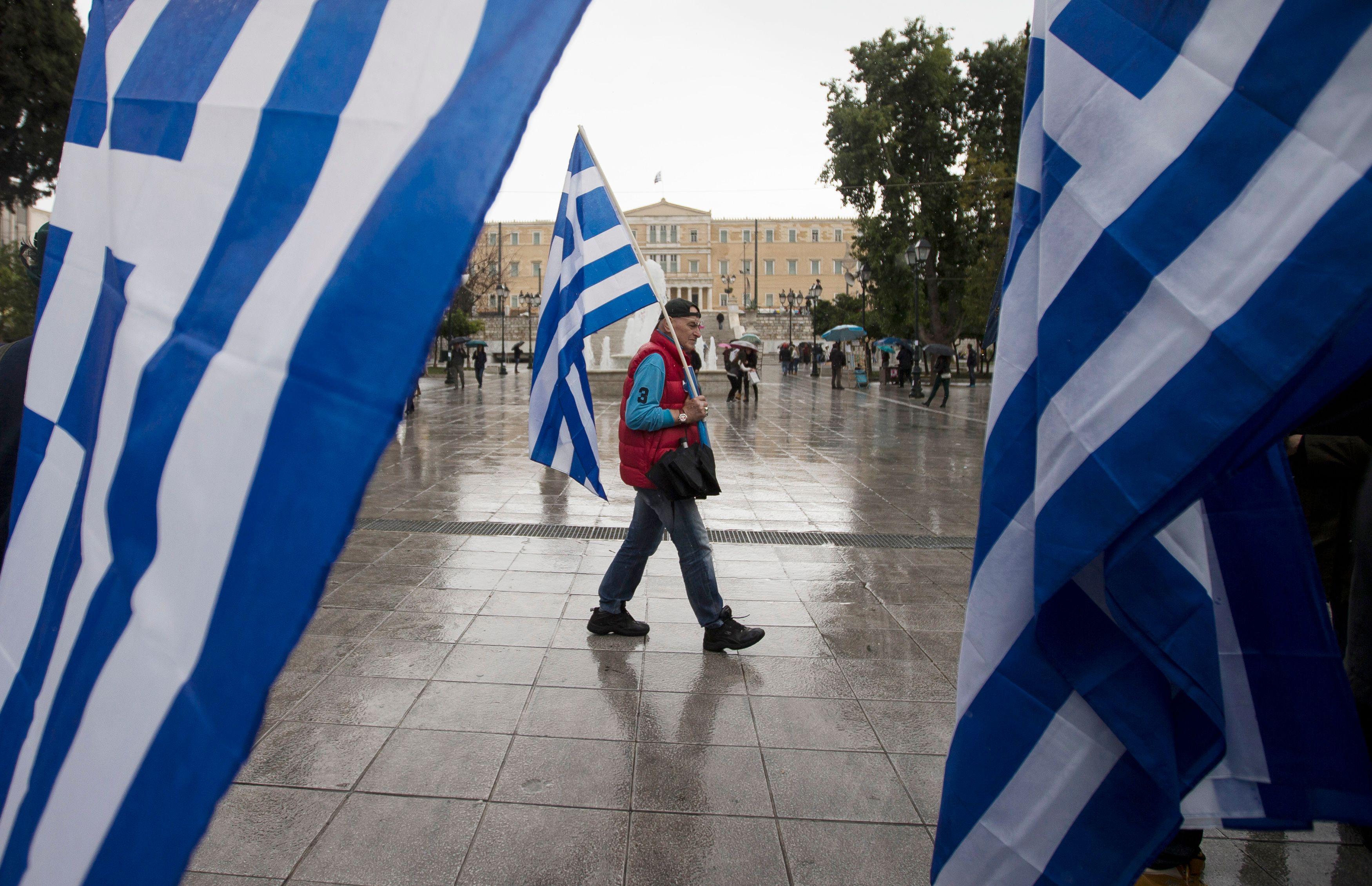 La Grèce poursuit son bras de fer