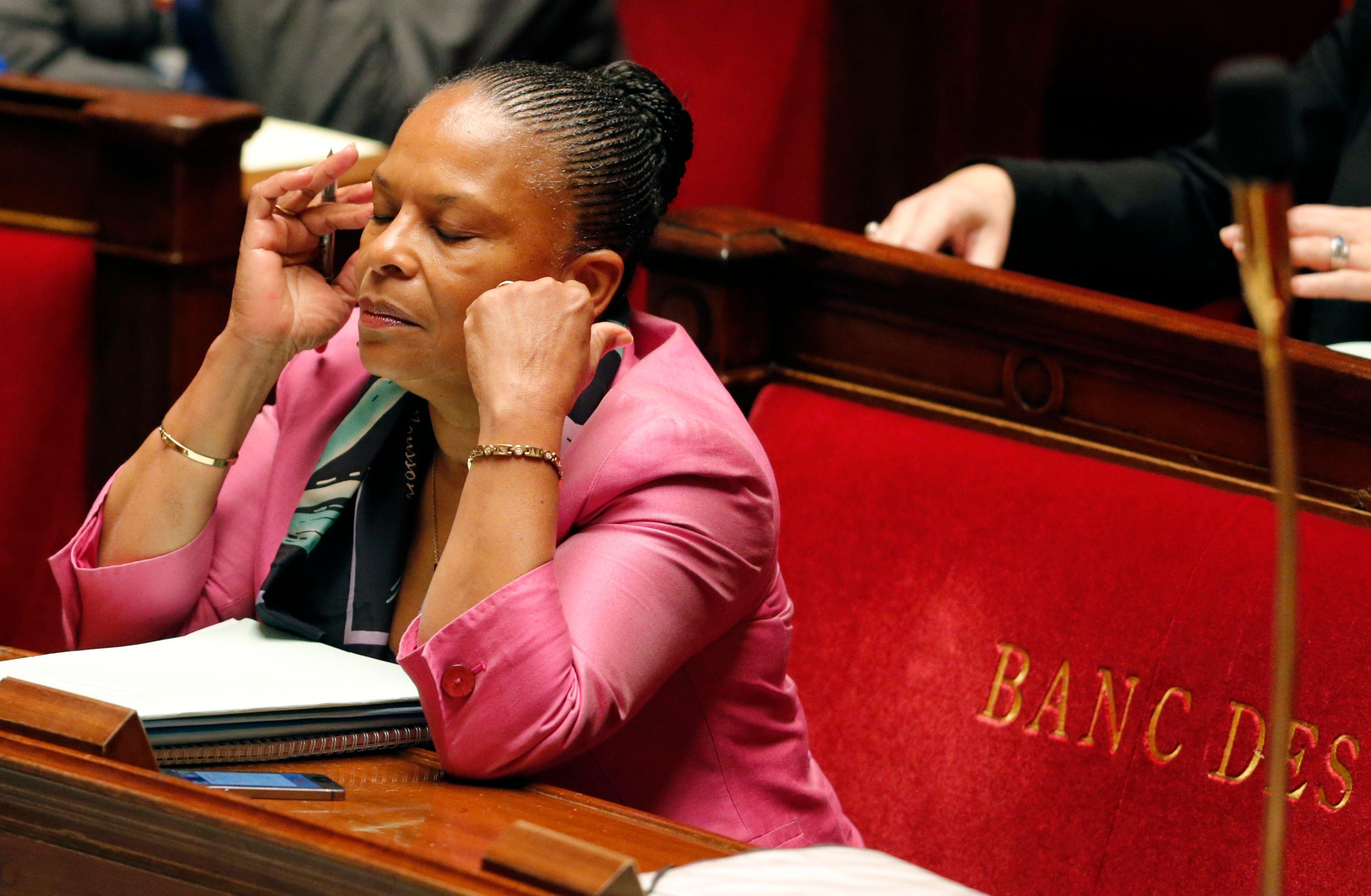 Christiane Taubira nie farouchement tout bénéfice intellectuel et politique venu de la droite.