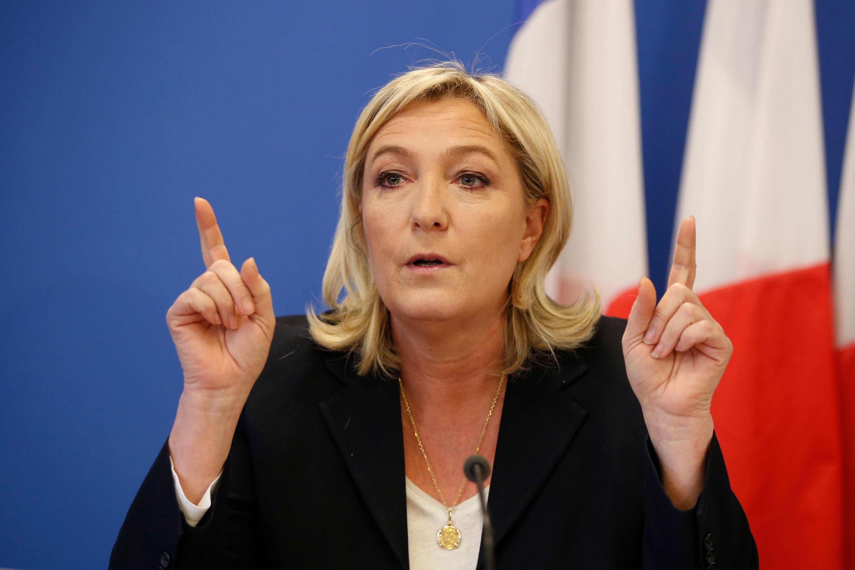 """Pour Marine Le Pen, l'Europe est confrontée à une """"immigration d'installation"""""""