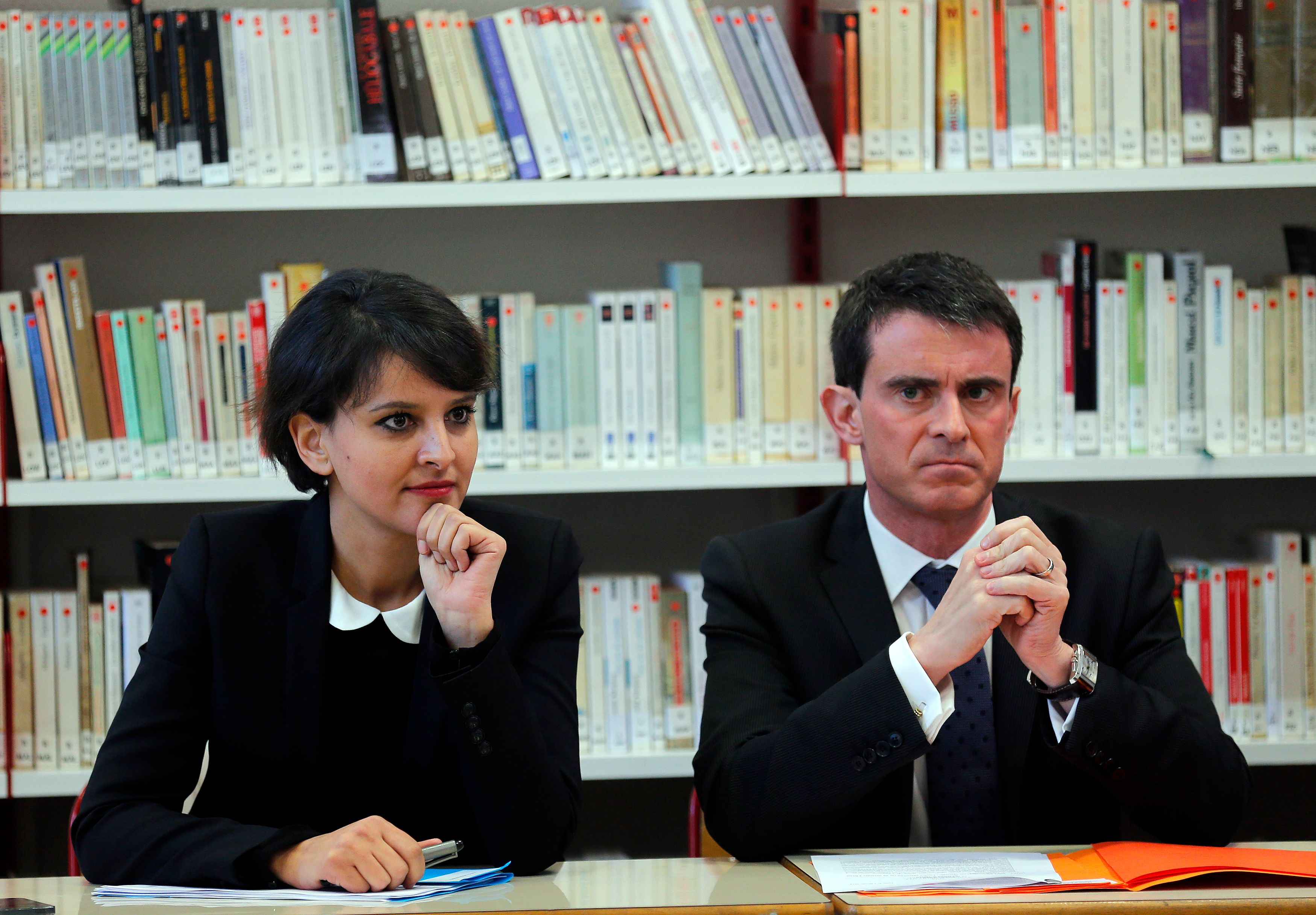 Quand des bruits circulent au sujet d'une liaison que Manuel Valls entretiendrait avec… Najat Vallaud-Belkacem