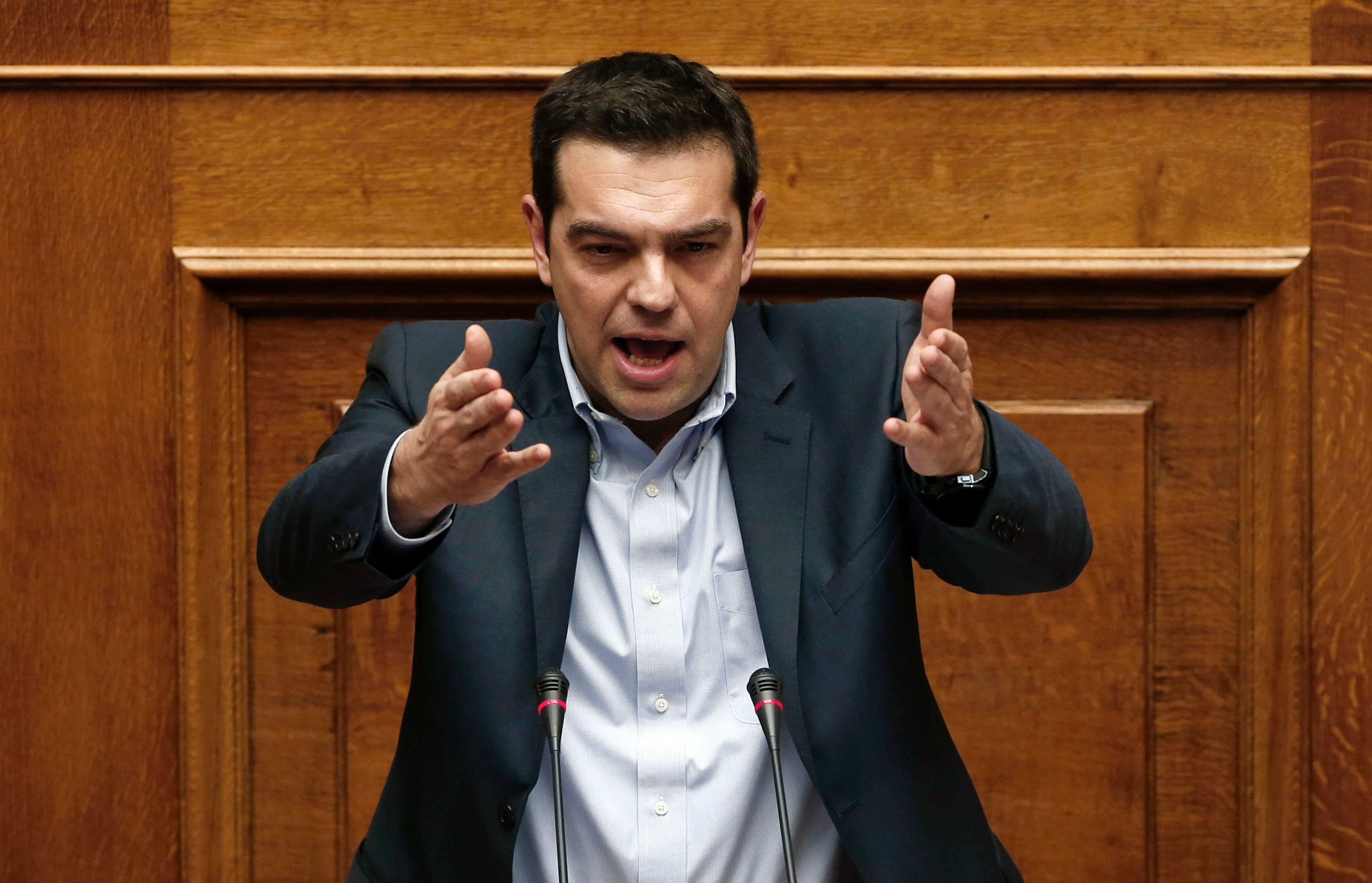 """Grèce : Alexis Tsipras ne veut pas d'un prêt-relais qui """"serait le retour à une crise sans fin"""""""