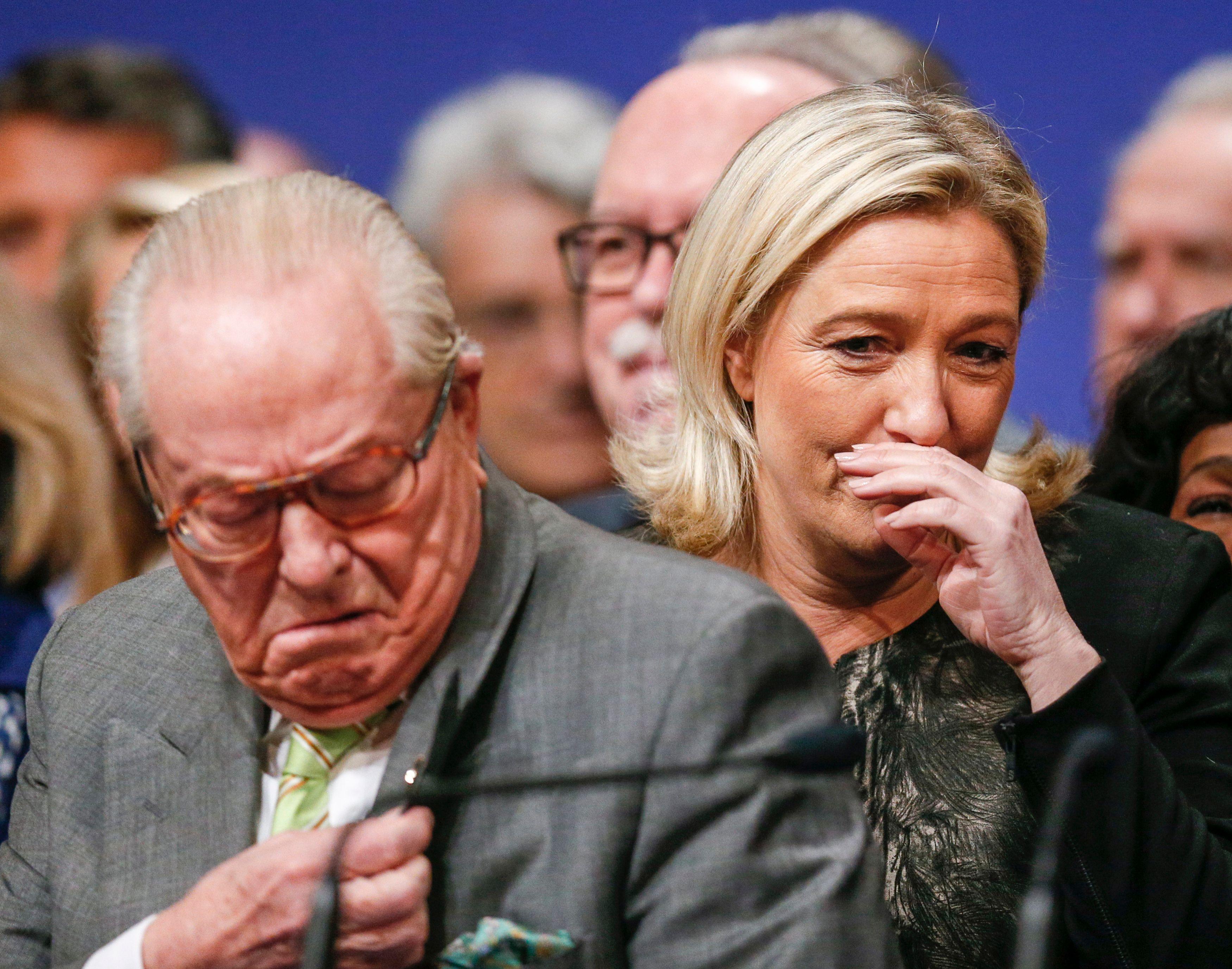 """Le cofondateur du Front national et sa présidente ont vu leurs recours rejetés car """"portées devant une juridiction incompétente""""."""