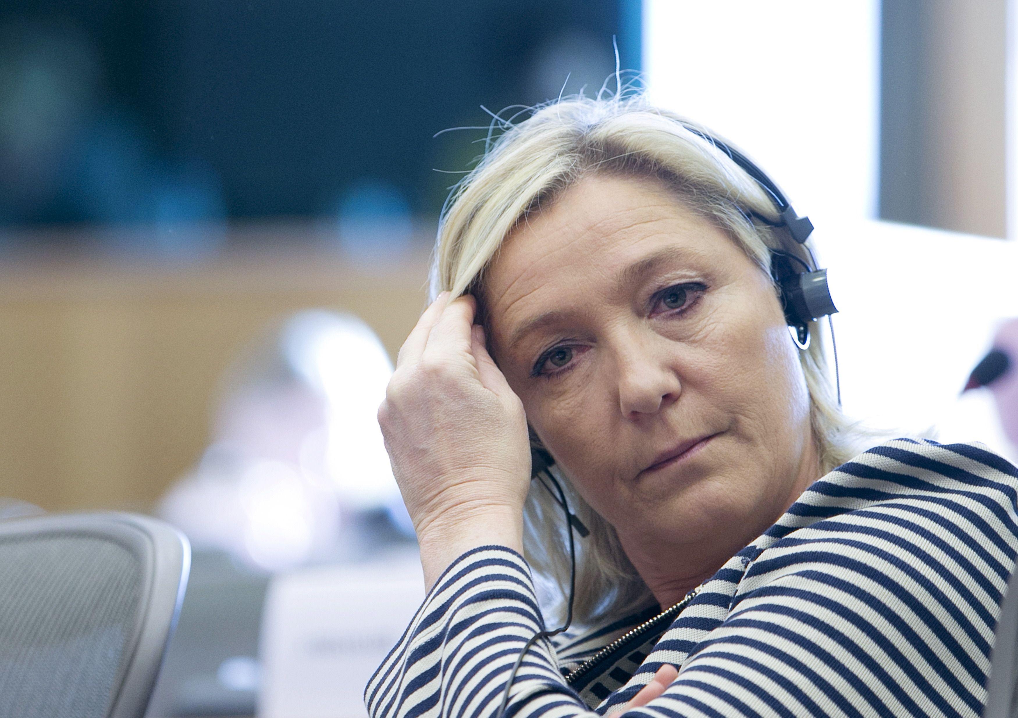 Front national : Marine Le Pen aurait un compte Twitter caché