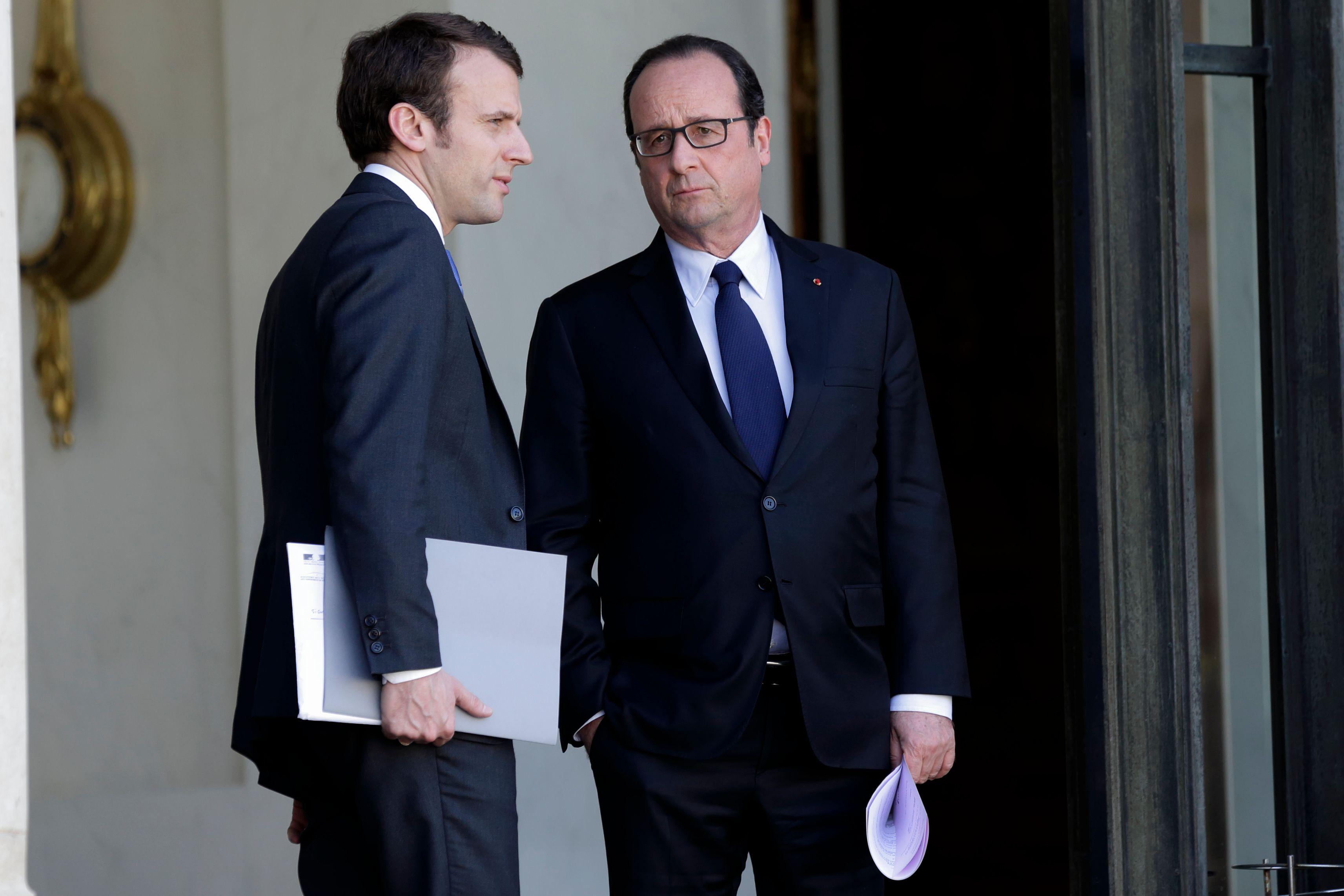 Hollande-Macron : Règlement de comptes à OK-Elysée