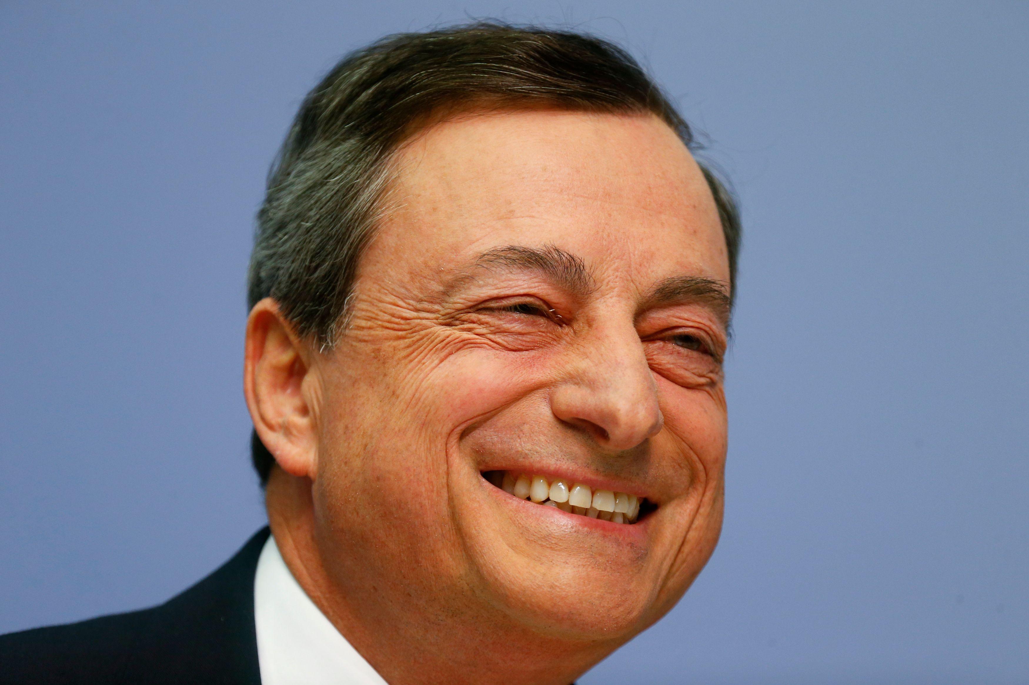 Mario Draghi de la BCE