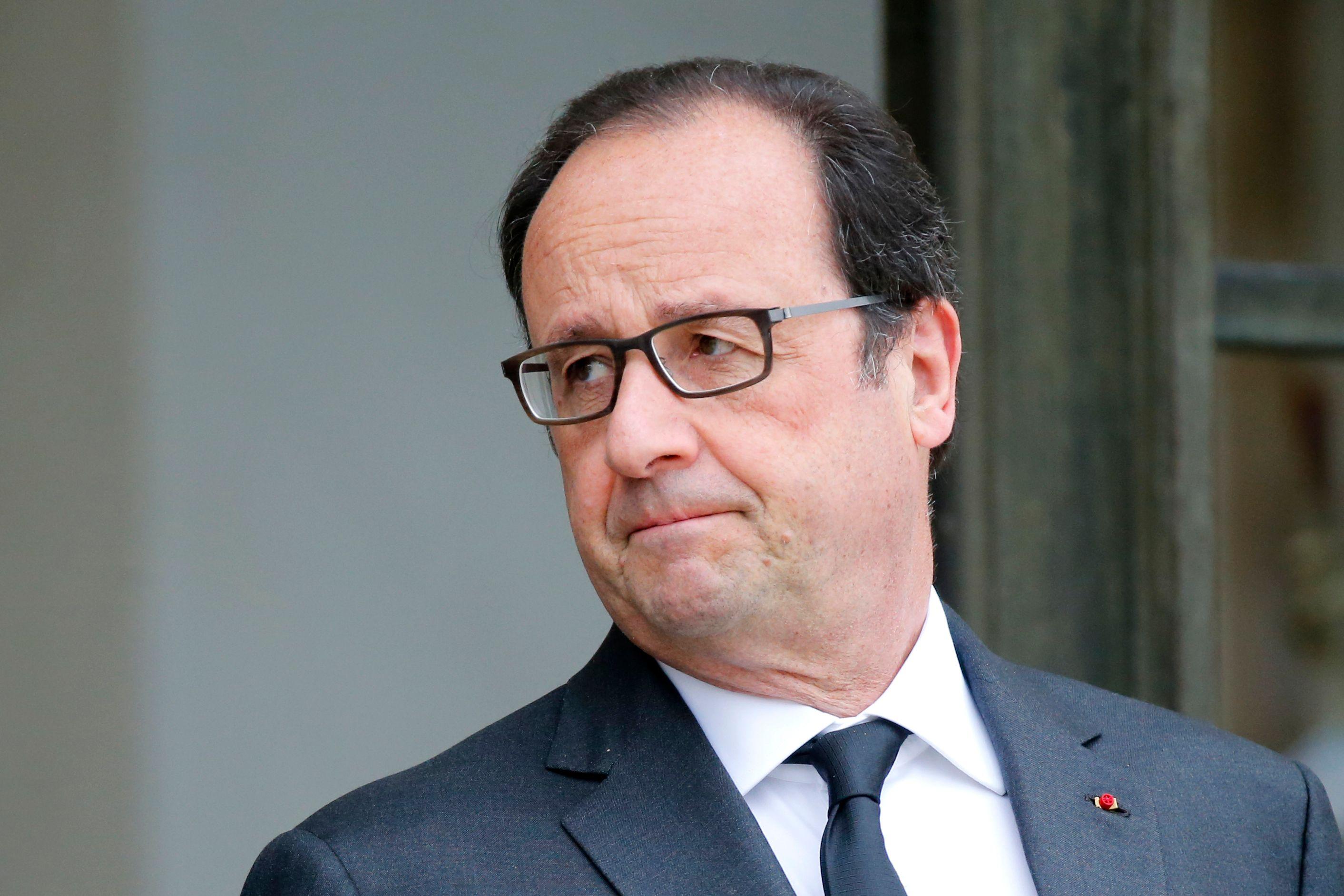 """""""J'ai engagé des réformes qui ne sont pas toutes de gauche mais servent l'intérêt général"""" assure François Hollande."""