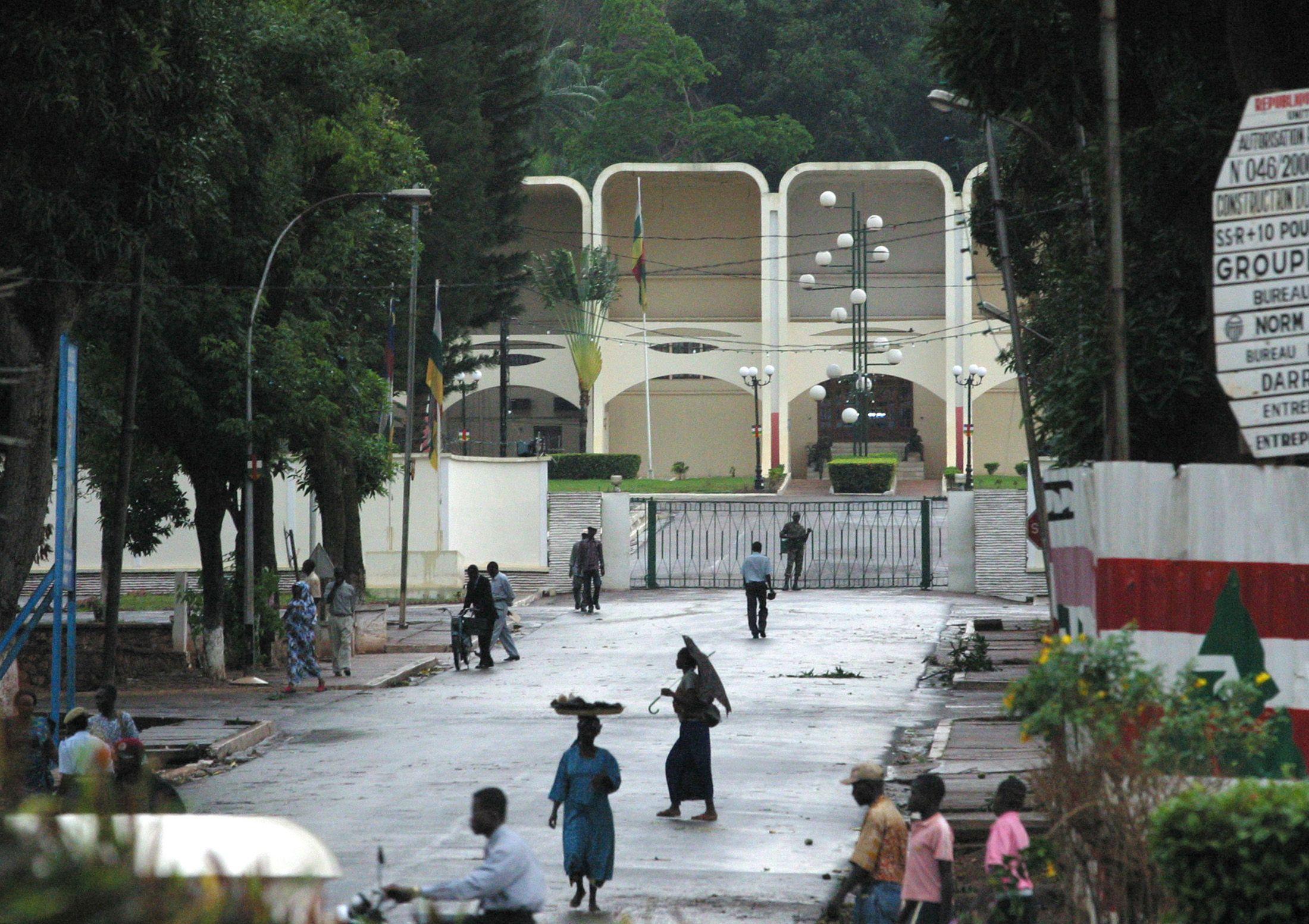 Une rue de Bangui, capitale de la République Centrafricaine
