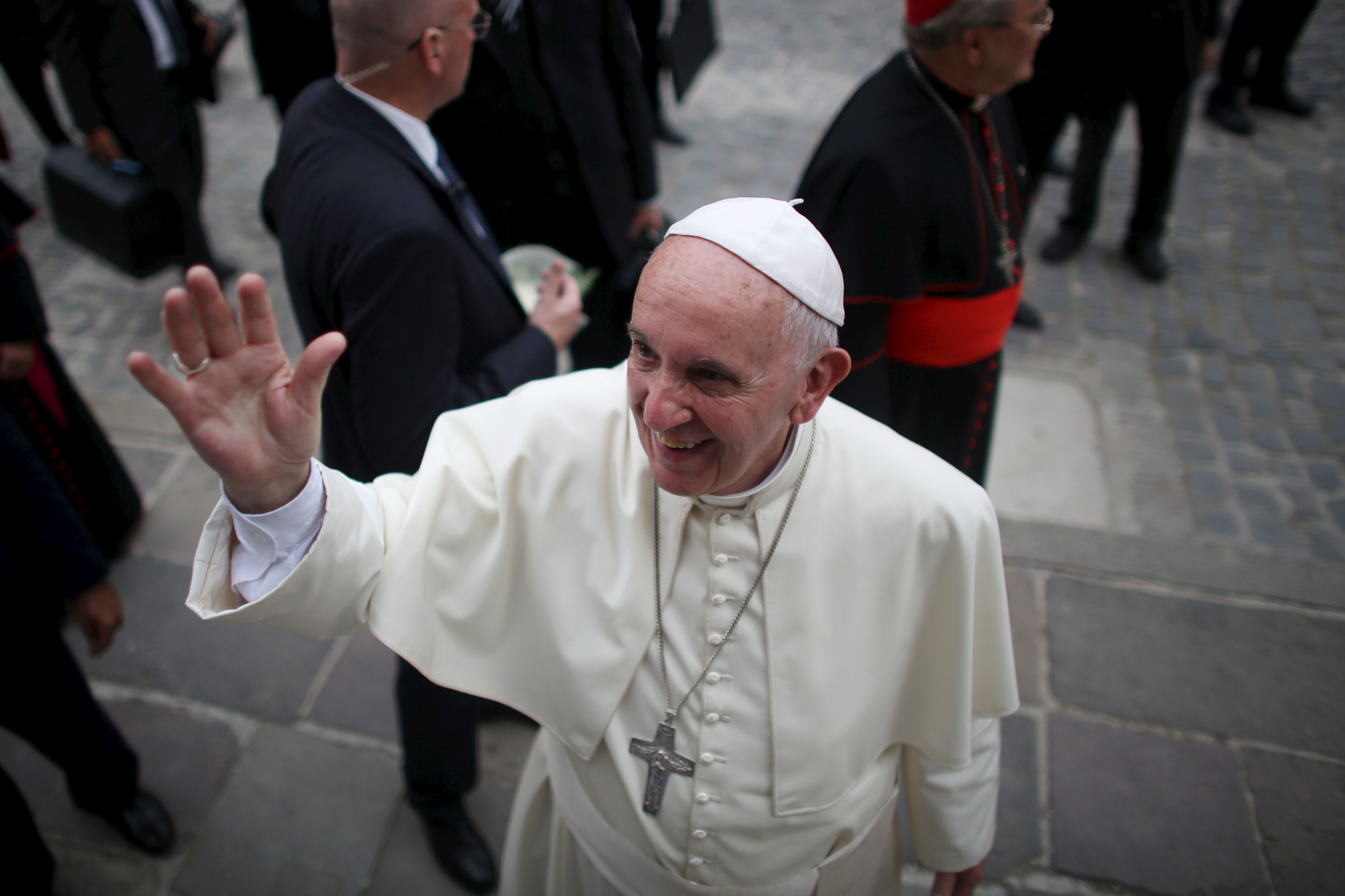 Le pape François sort son premier album
