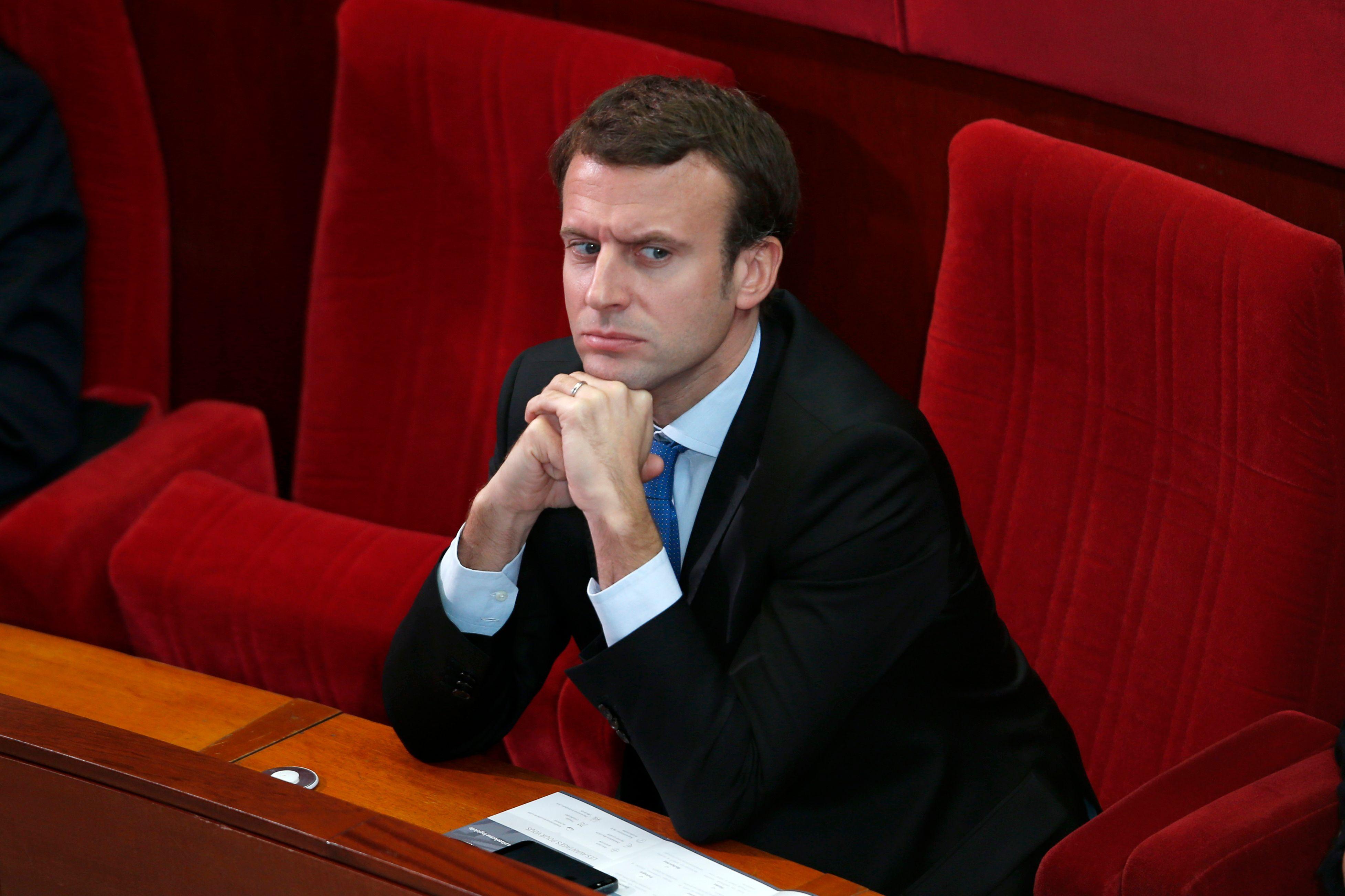 Emmanuel Macron mise sur les petites PME et les entreprises individuelles pour relancer l'économie française.