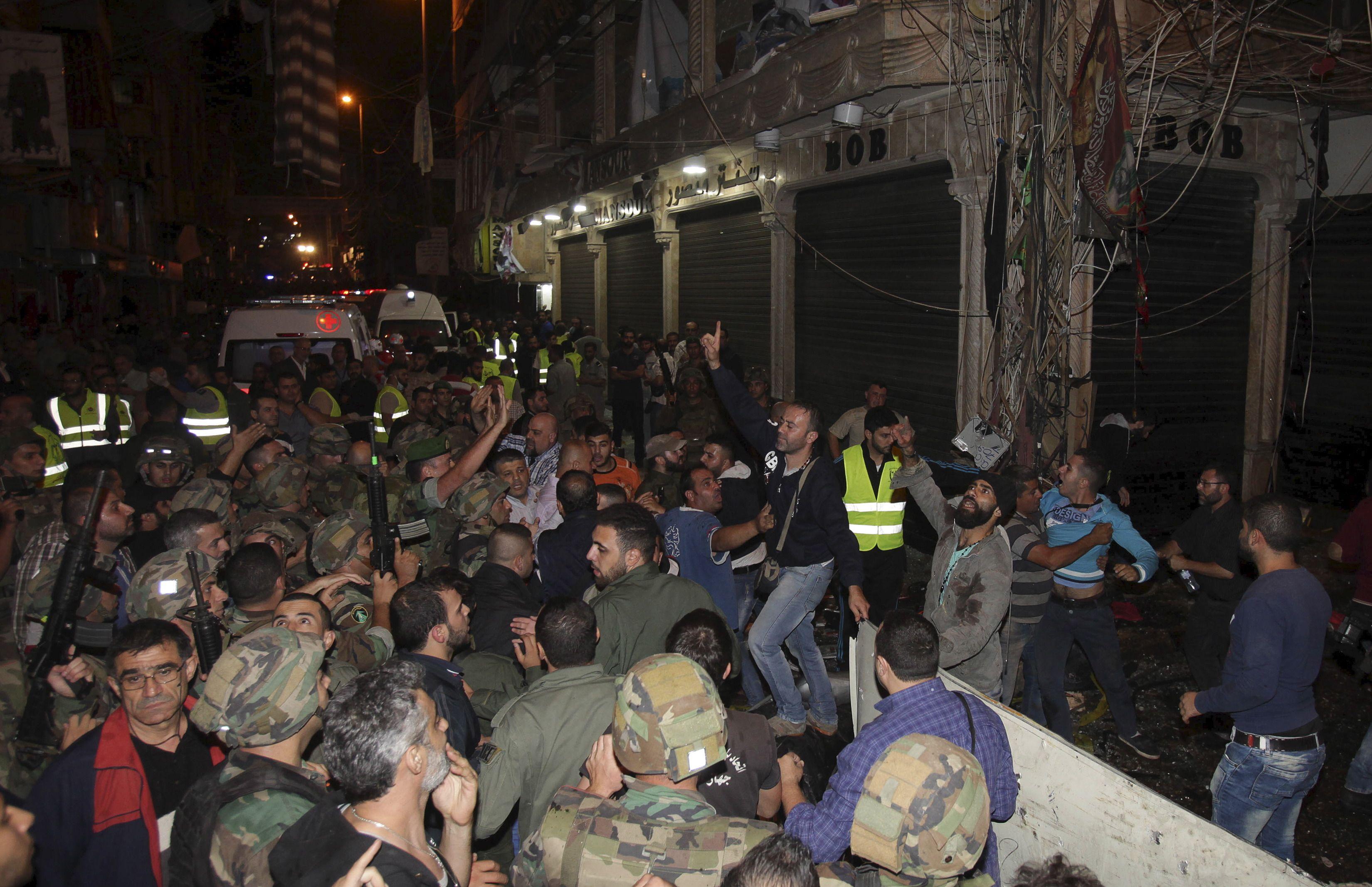 Un double attentat suicide fait des dizaines de morts à Beyrouth