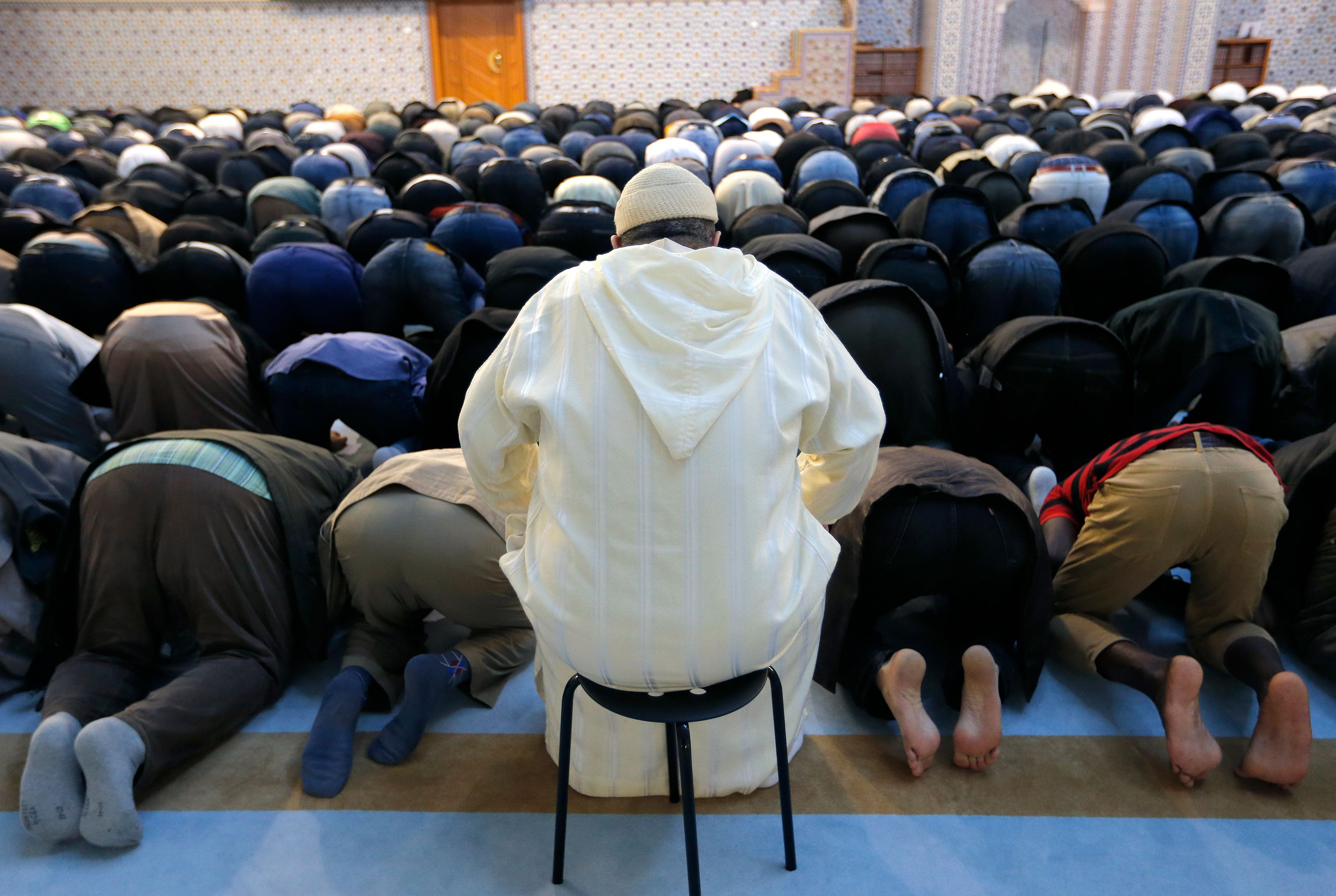 A la grande mosquée de Strasbourg