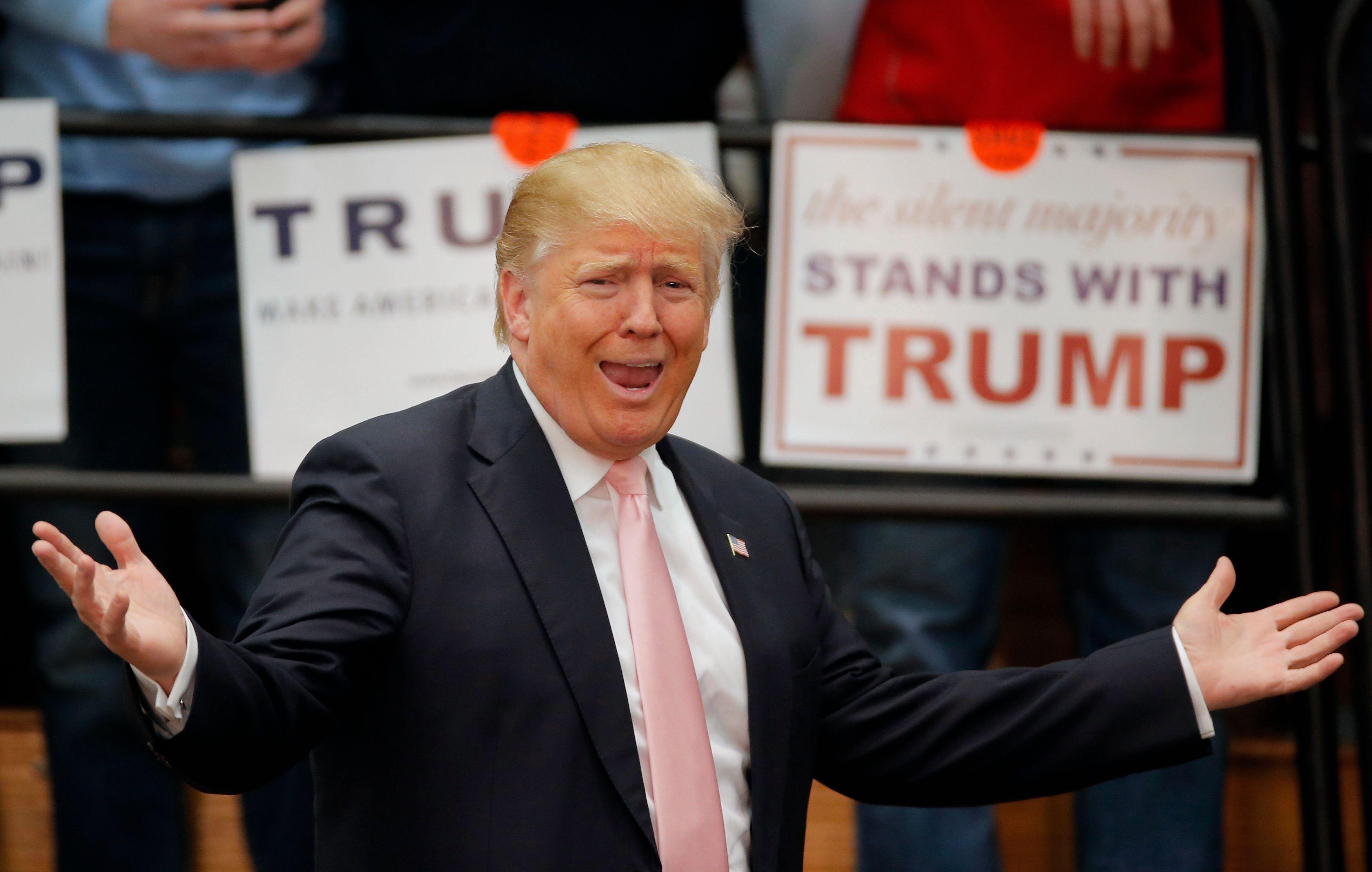 Donald Trump : son premier discours du candidat investi