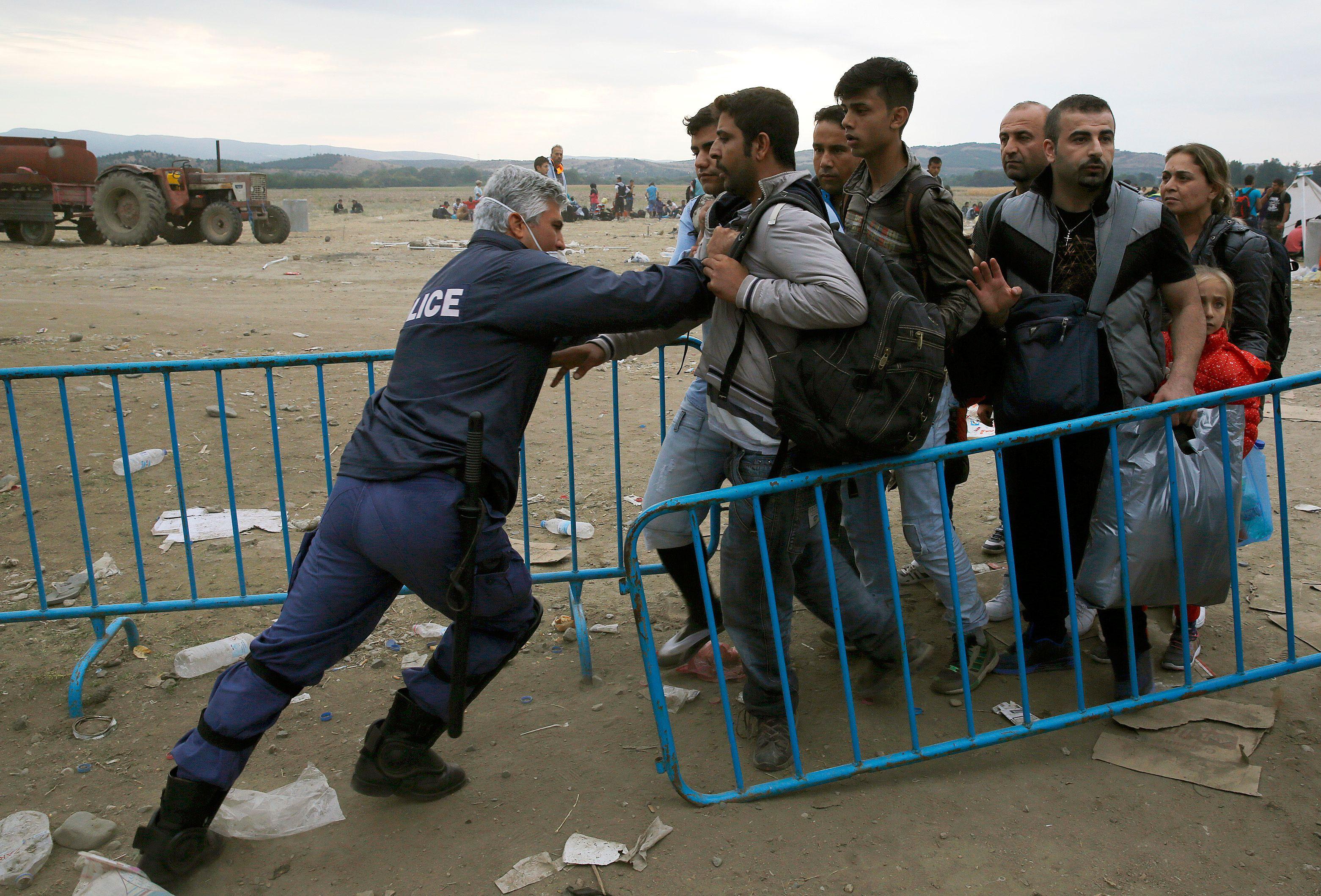 75% des demandes d'asile sont rejetées en France.