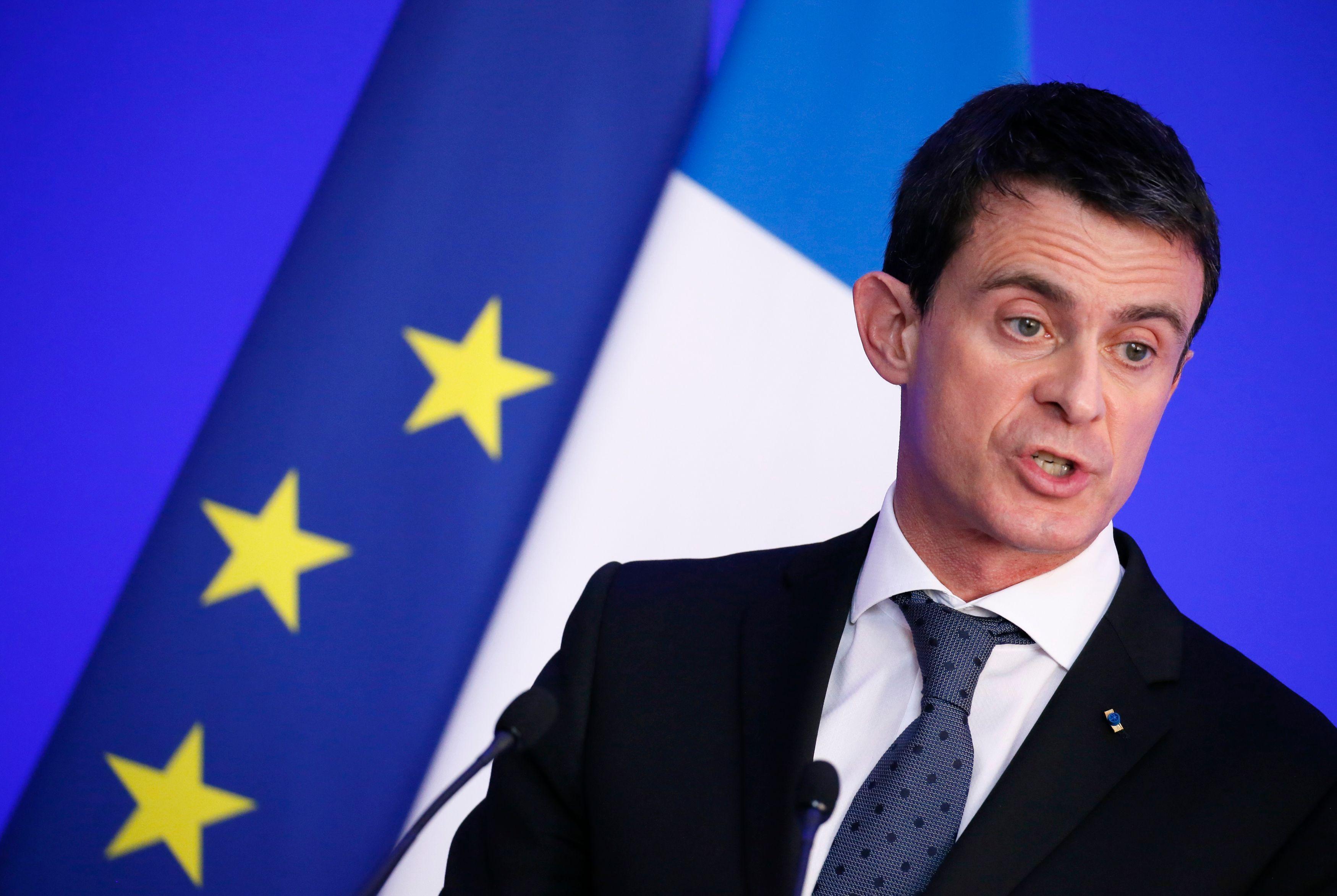 """Ras-le-bol des policiers : Manuel Valls accuse l'opposition """"d'utilisation politique"""""""