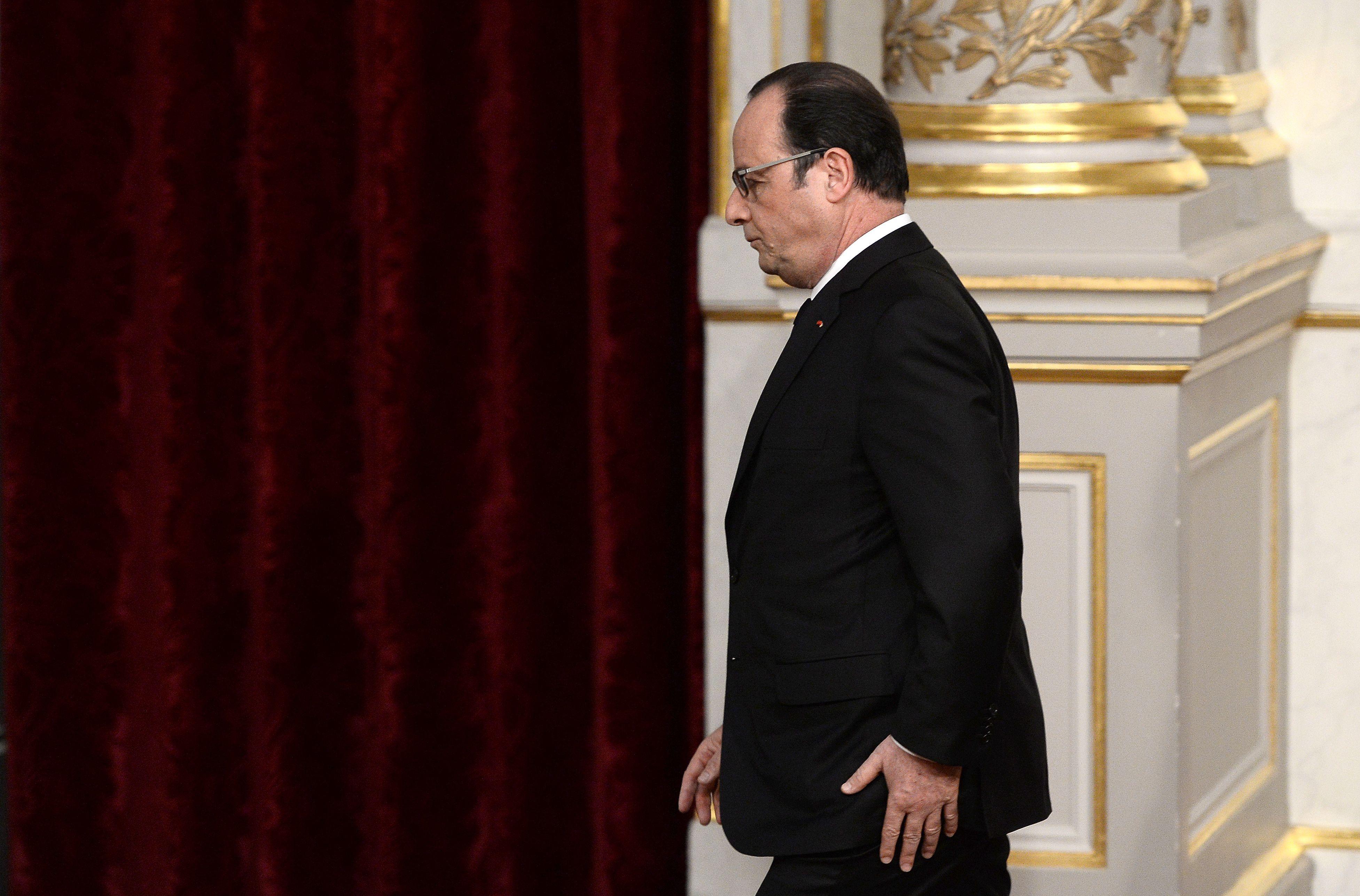 2017 : 80% des Français ne veulent pas d'une candidature de François Hollande