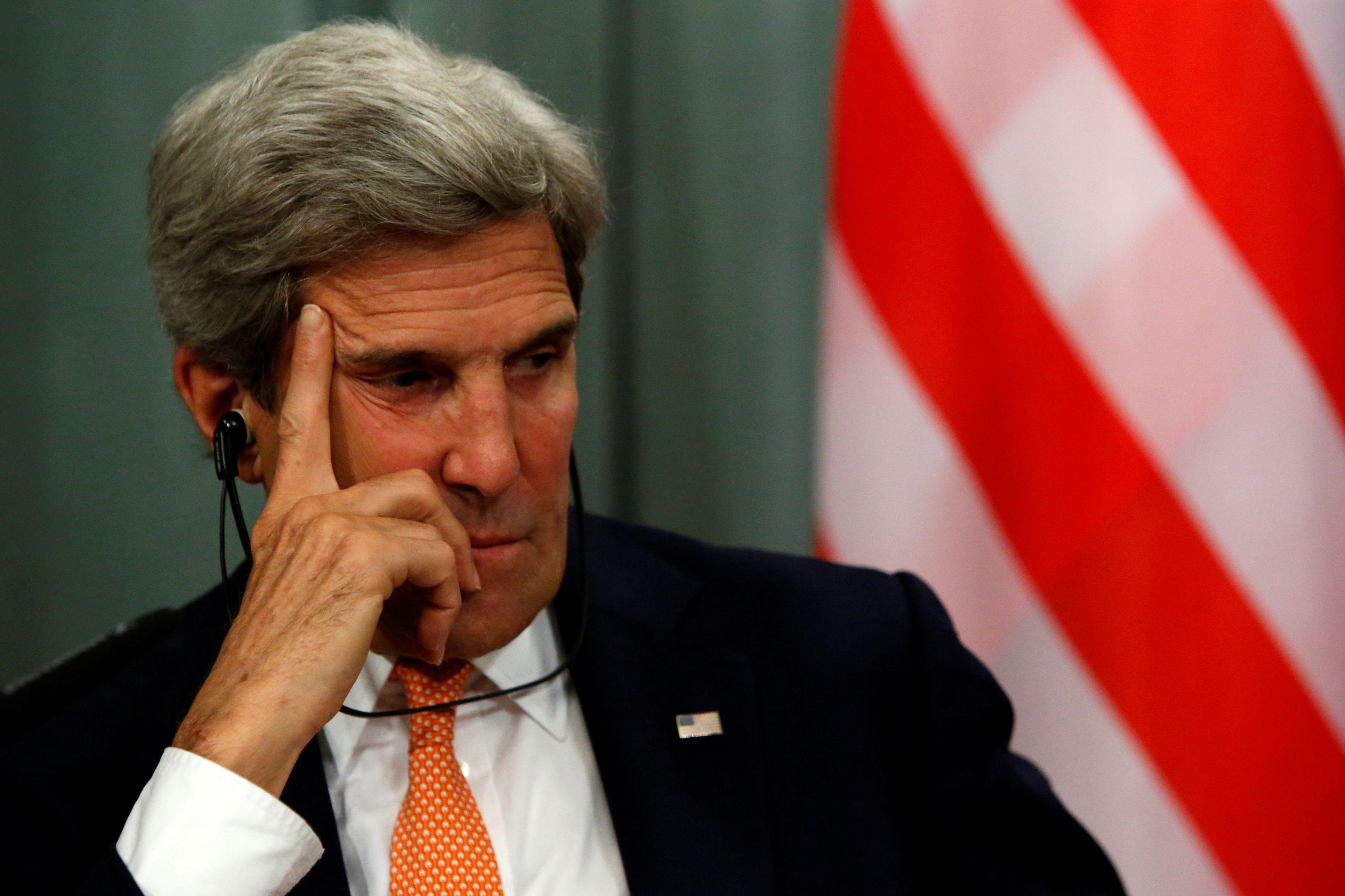 Dans un enregistrement audio, John Kerry évoque ses regrets quant à la gestion de la crise syrienne