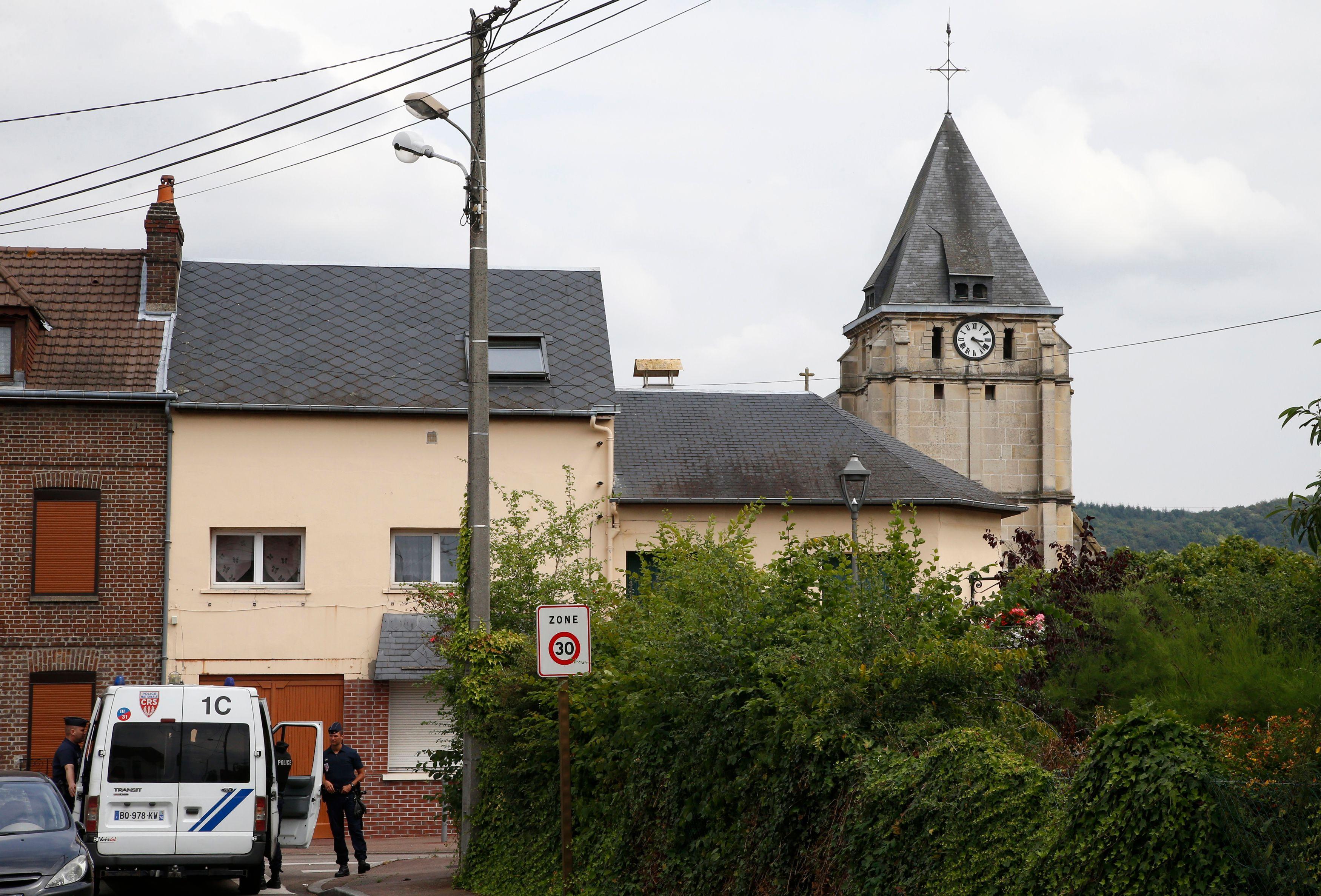 Saint-Étienne-du-Rouvray : le second suspect a été identifié