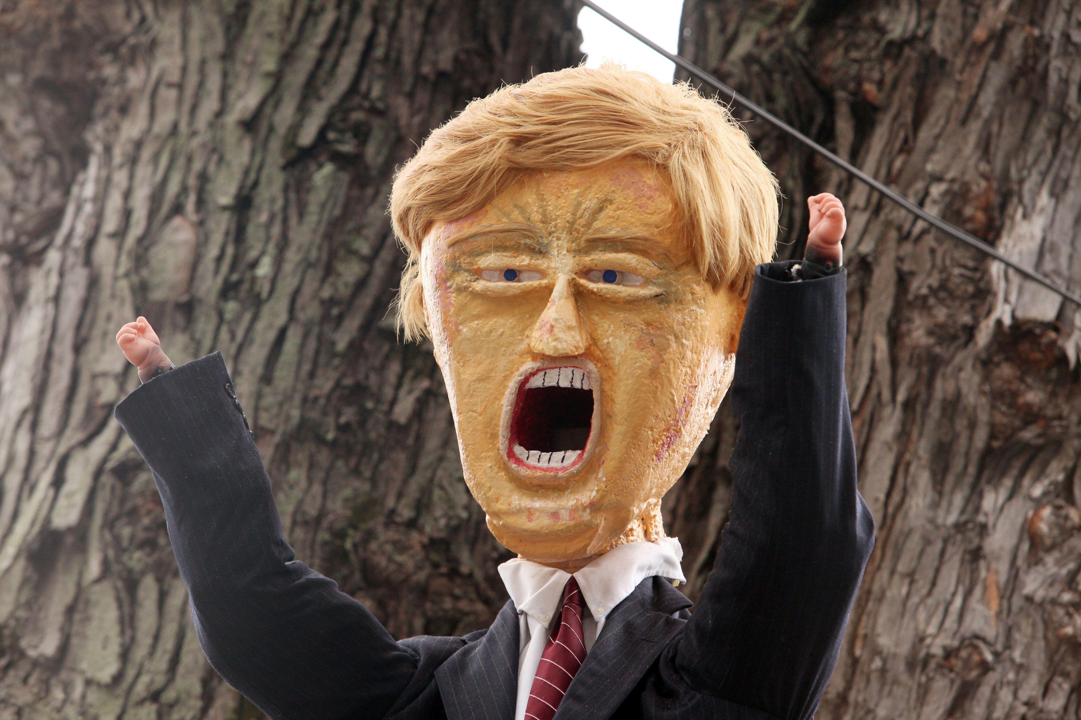Des manifestations anti-Trump éclatent un peu partout aux Etats-Unis