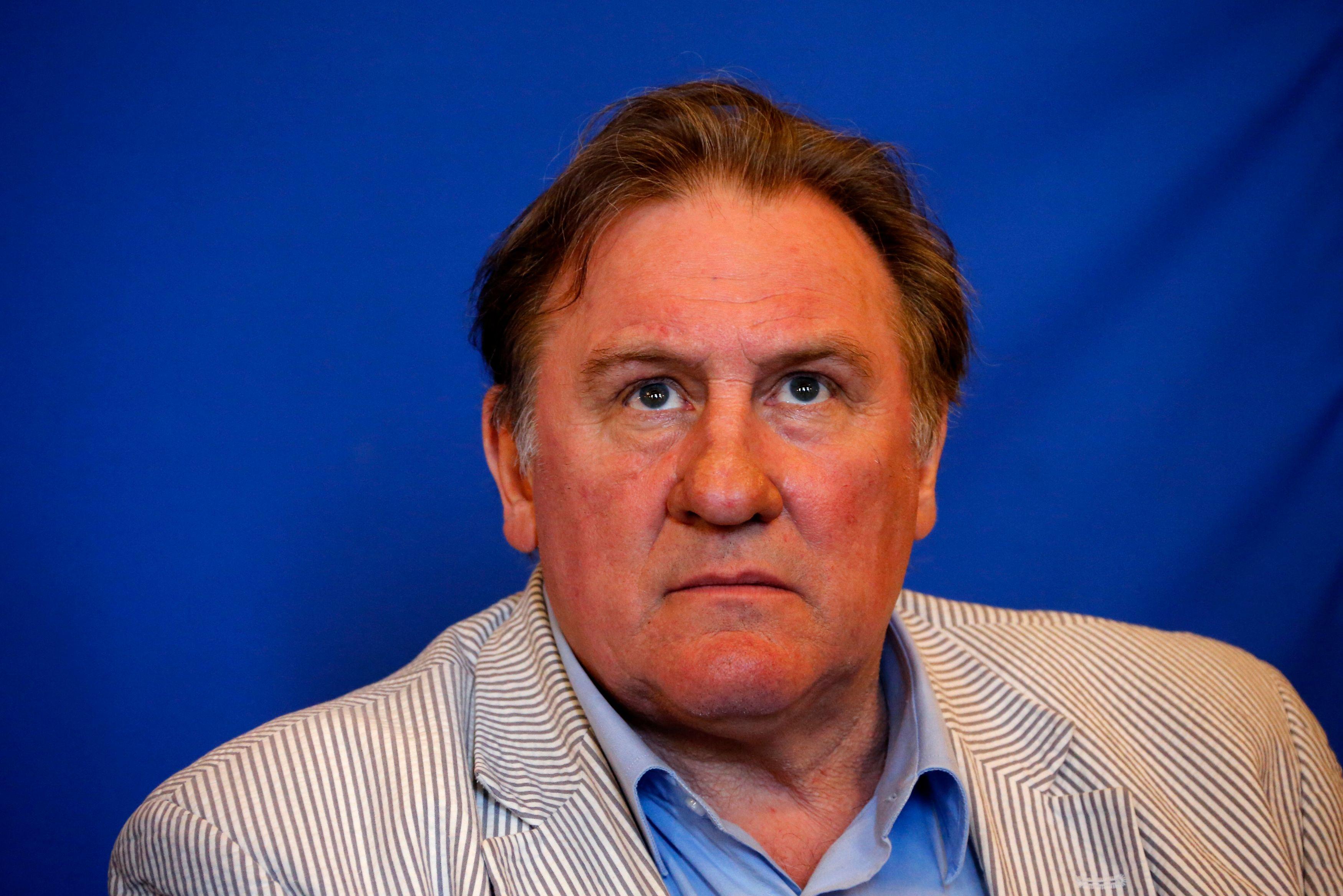 """Gérard Depardieu : Etre comédien ? """"Ce n'est plus montruc"""", dit-il"""