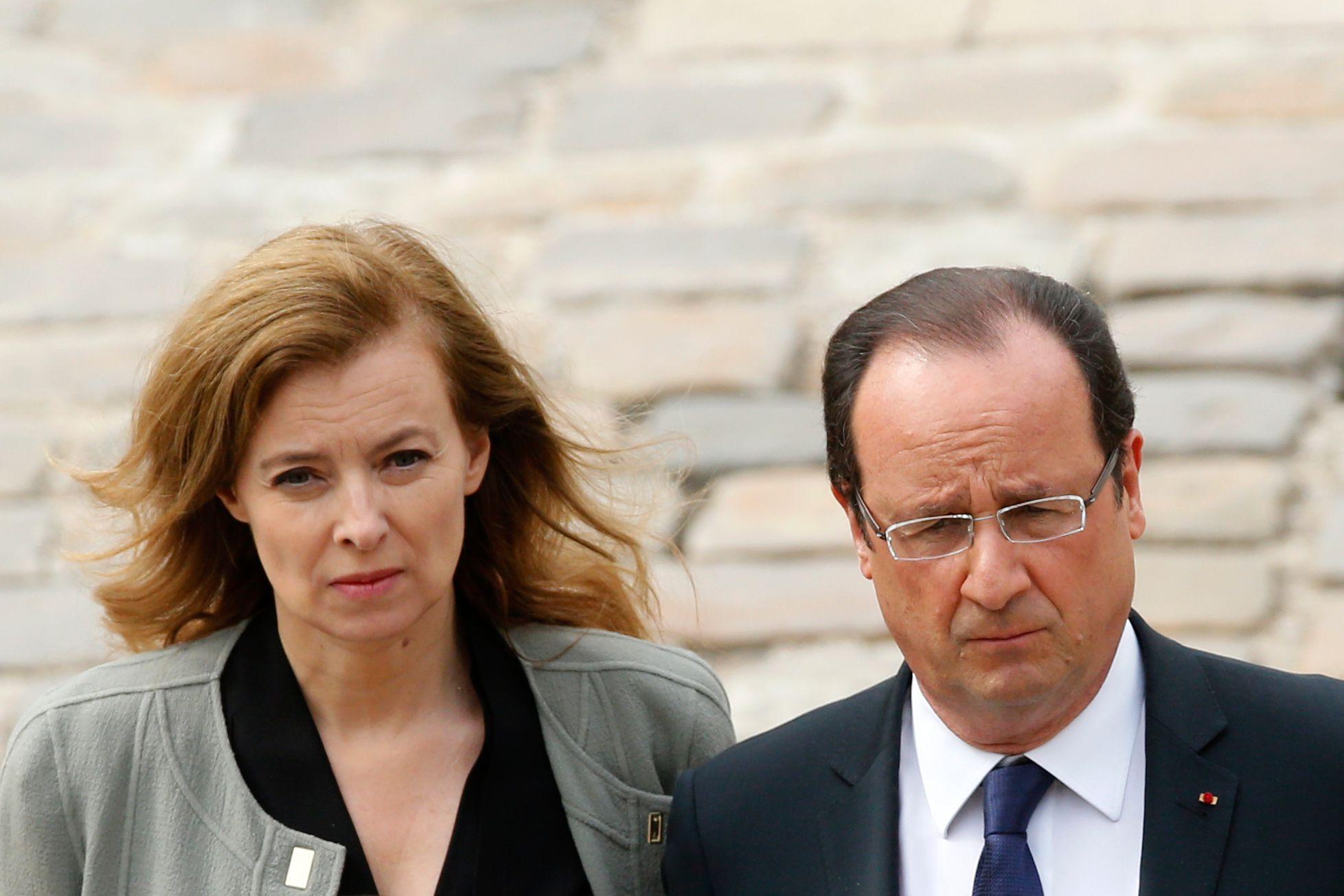 François Hollande se rend aux Pays-Bas sans Valérie Trierweiler