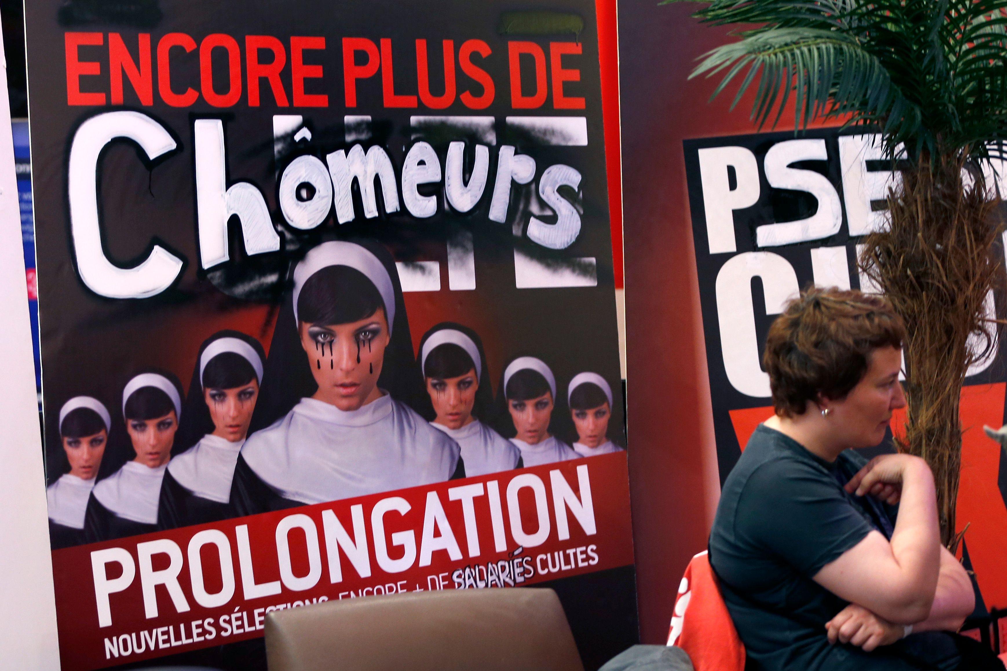 Le chômage progresse toujours en France