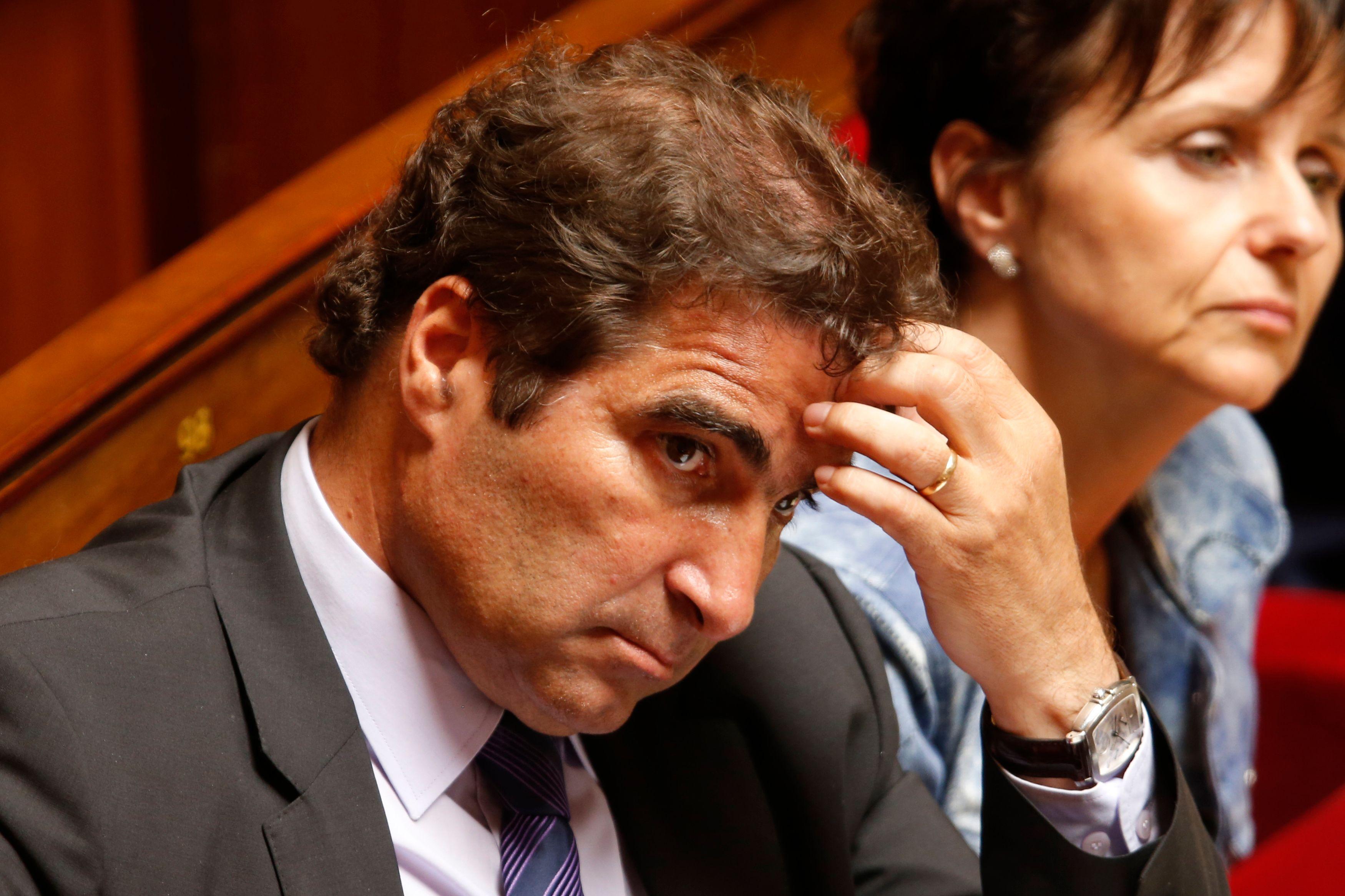 Christian Jacob, le président du groupe UMP à l'Assemblée.