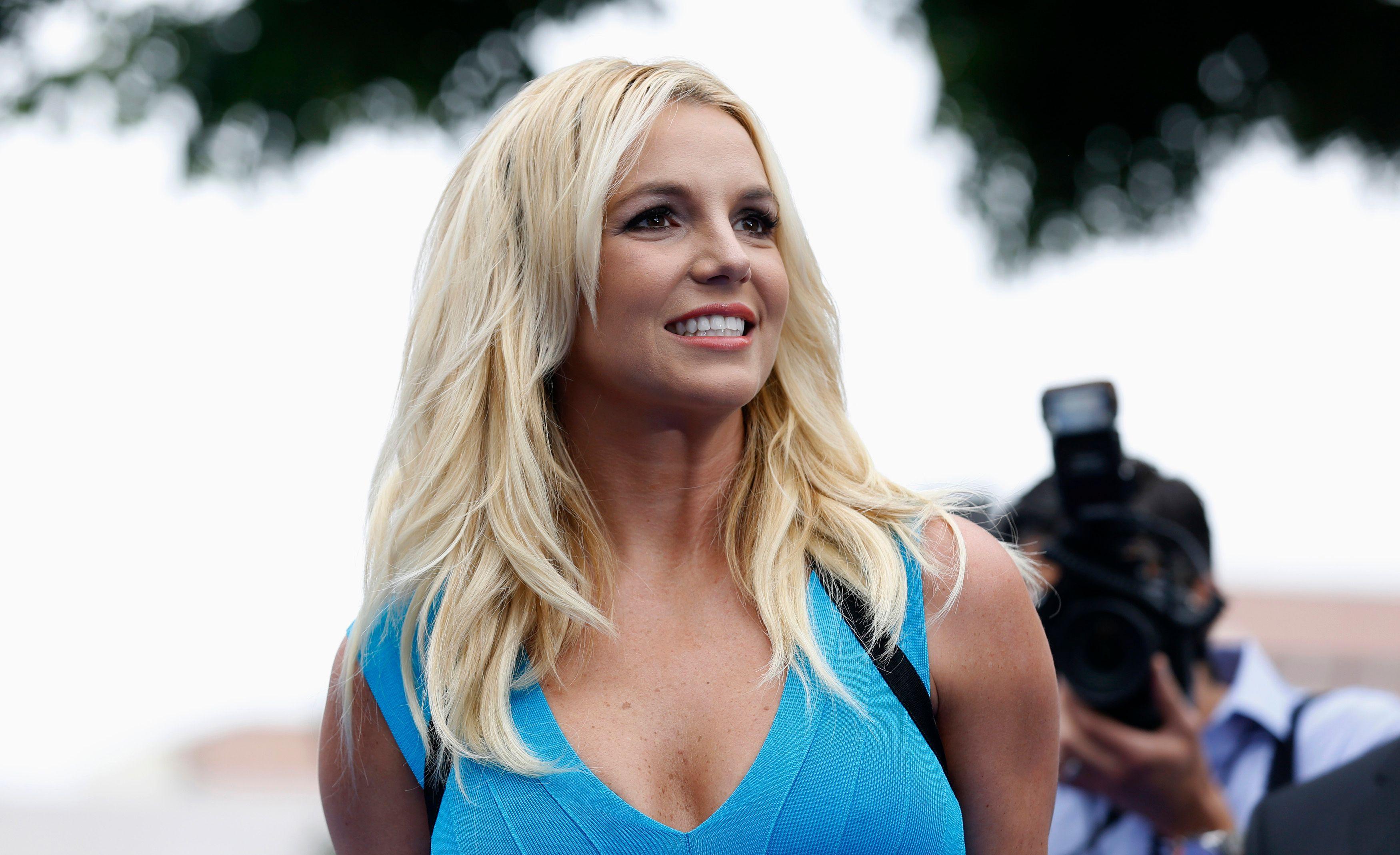 Britney Spears s'est relevée de sa chute.