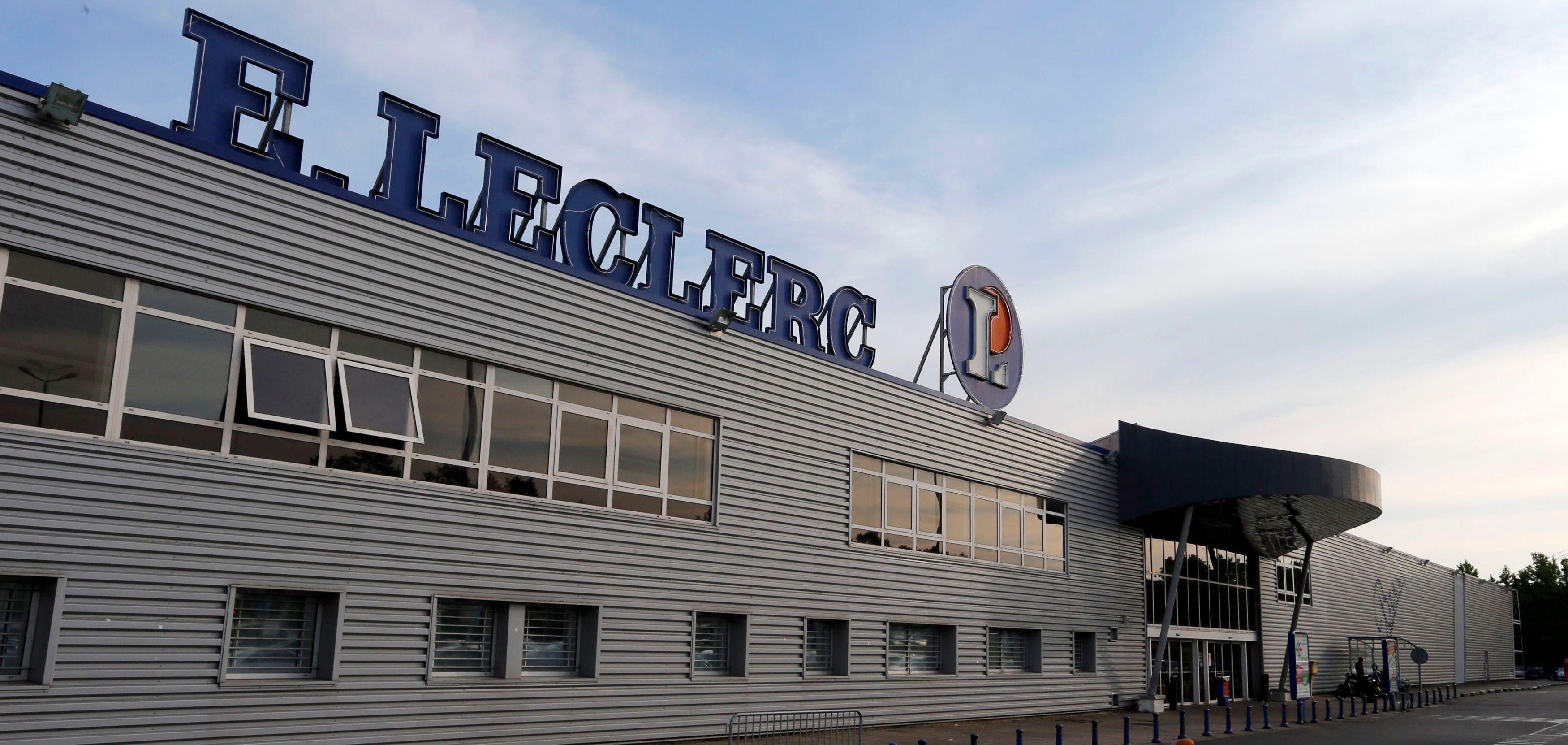 Edouard Leclerc a présenté son plan d'investissement dans une plateforme internet.