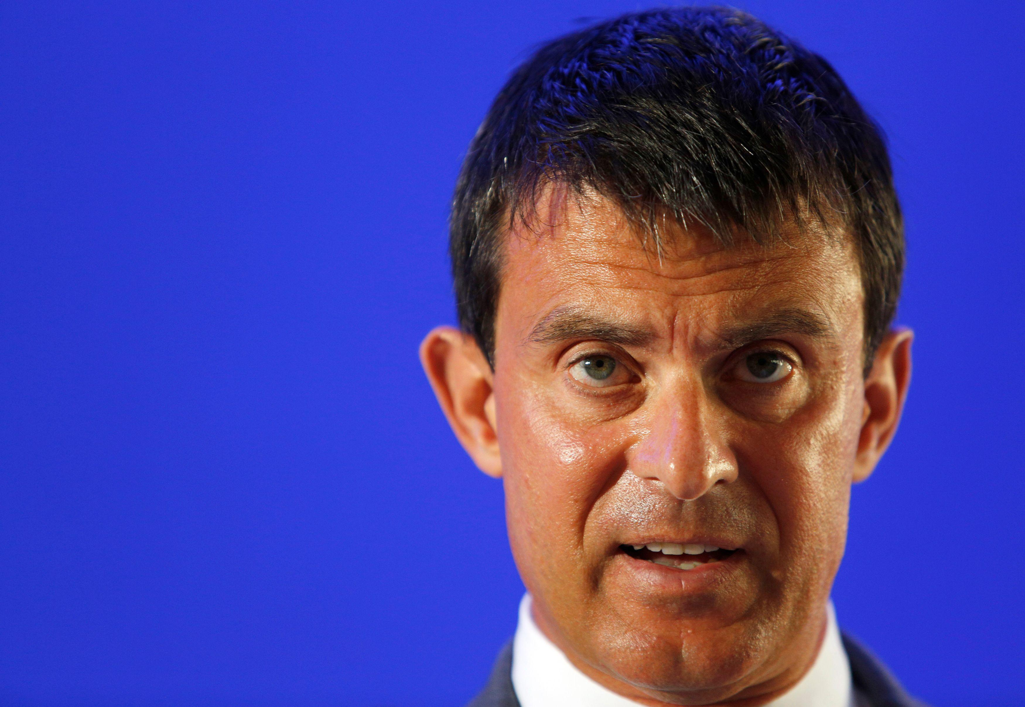 Manuel Valls a discuté ce lundi avec François Hollande de la composition du prochain gouvernement