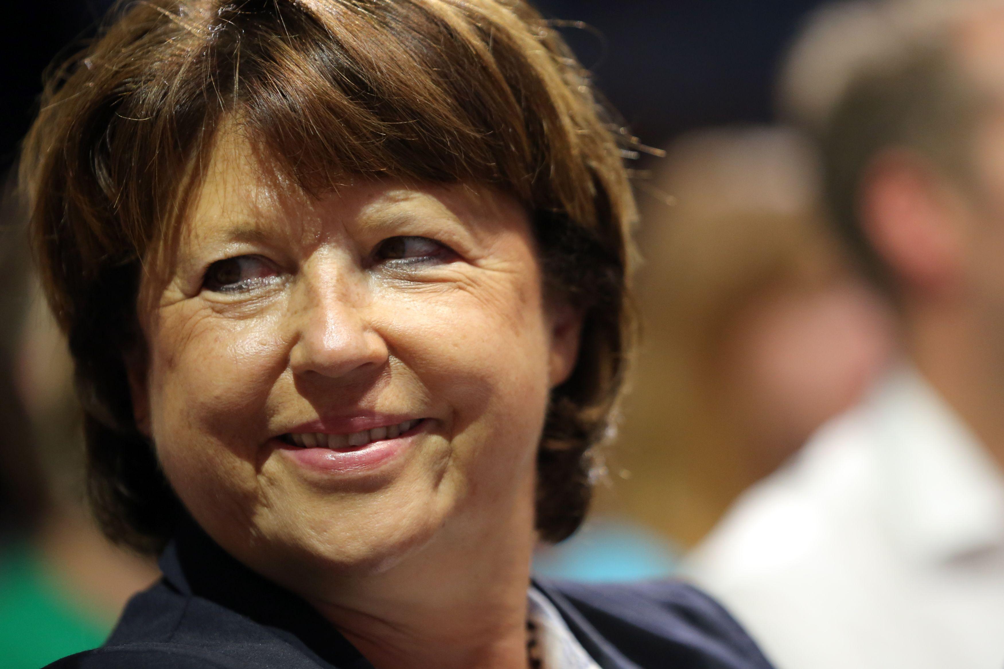 Martine Aubry s'engage contre la réforme du travail du dimanche