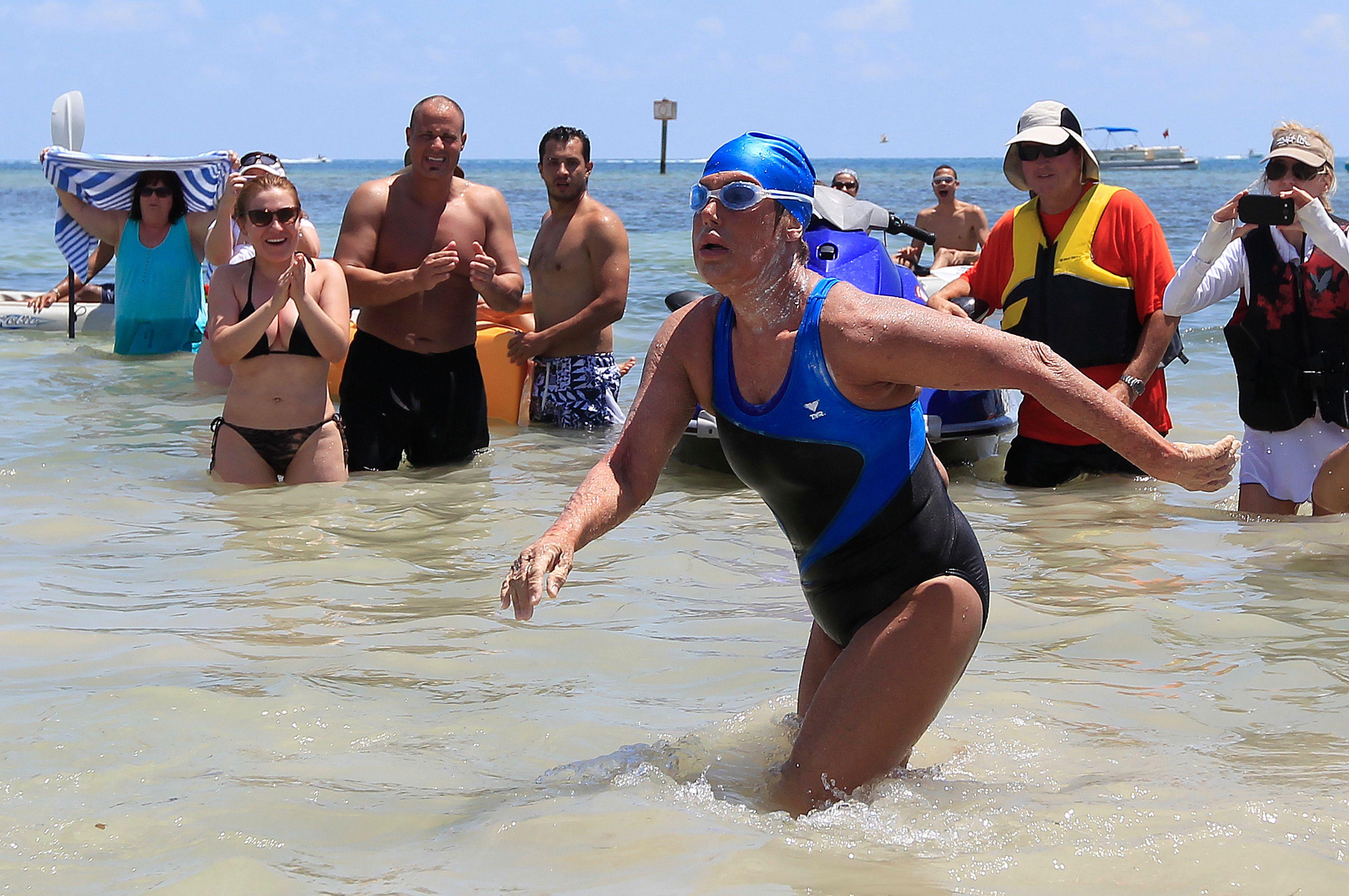 Diana Nyad a réussi l'exploit de faire la traversée entre Cuba et la Floride