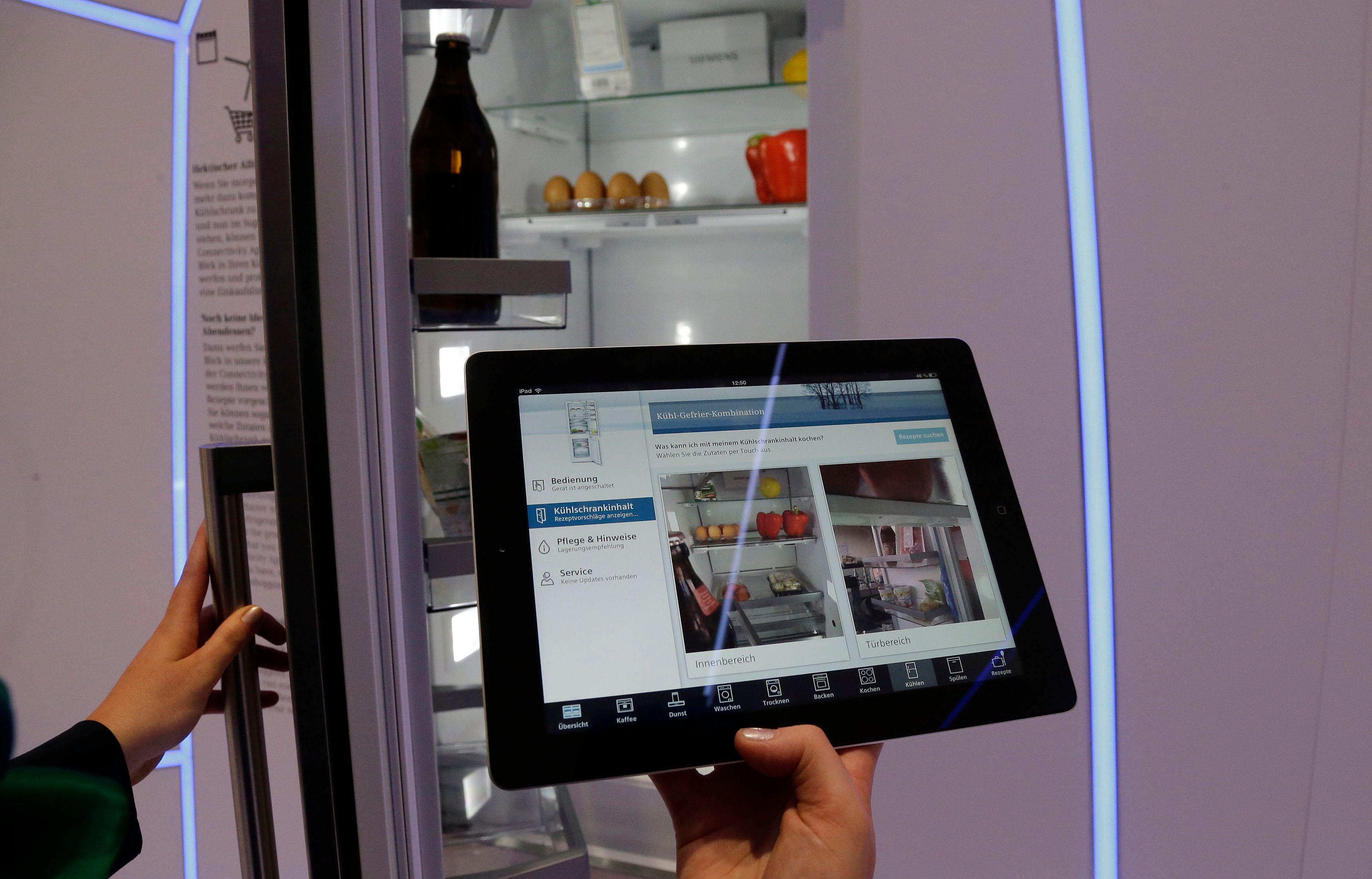 La marque Siemens présente sa gamme de réfrigérateurs intelligents à l'occasion du salon IFA de Berlin qui débute ce vendredi jusqu'au 9 septembre.