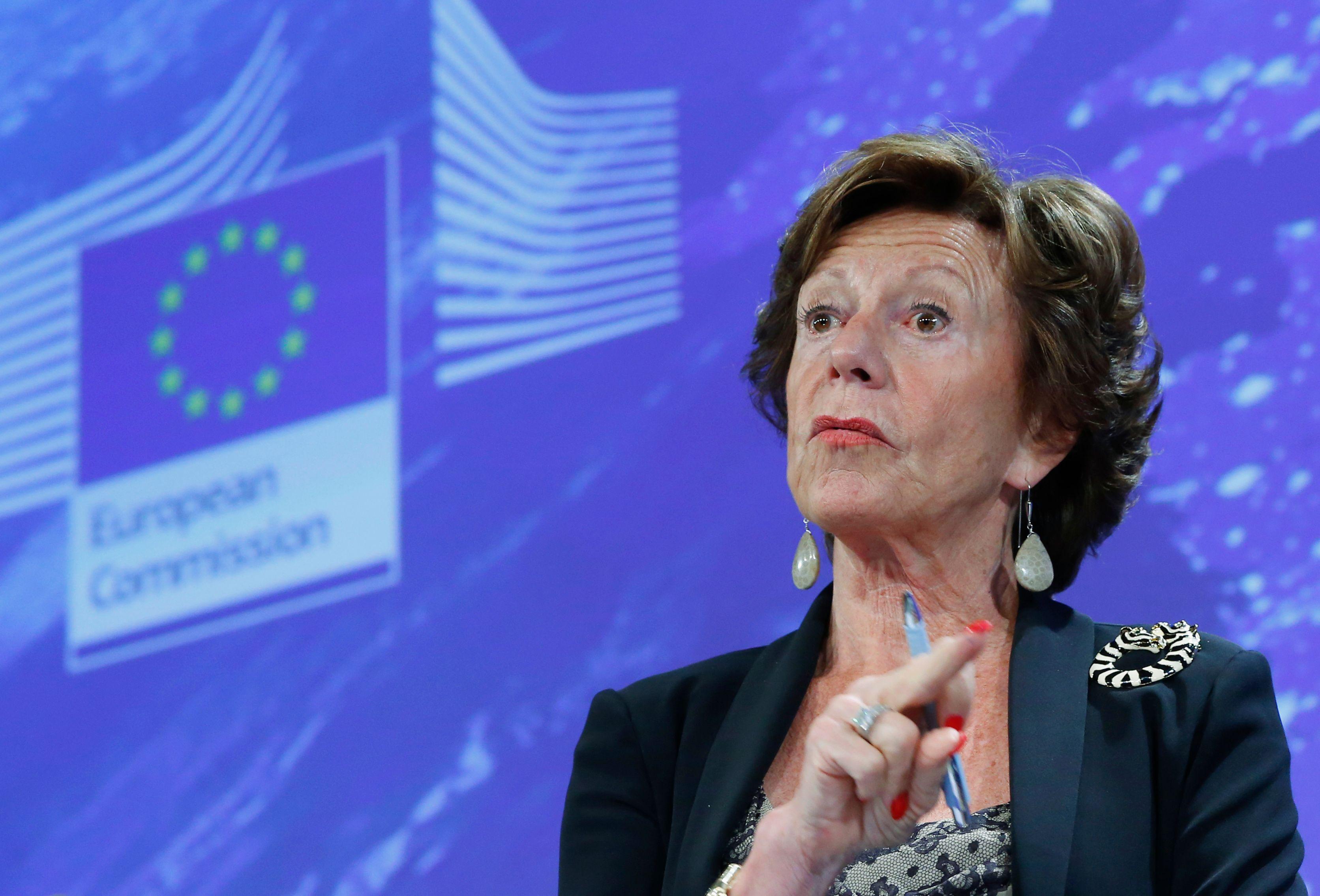 """""""Bahamas Leaks"""" : l'ancienne commissaire européenne Neelie Kroes était directrice d'une société offshore"""