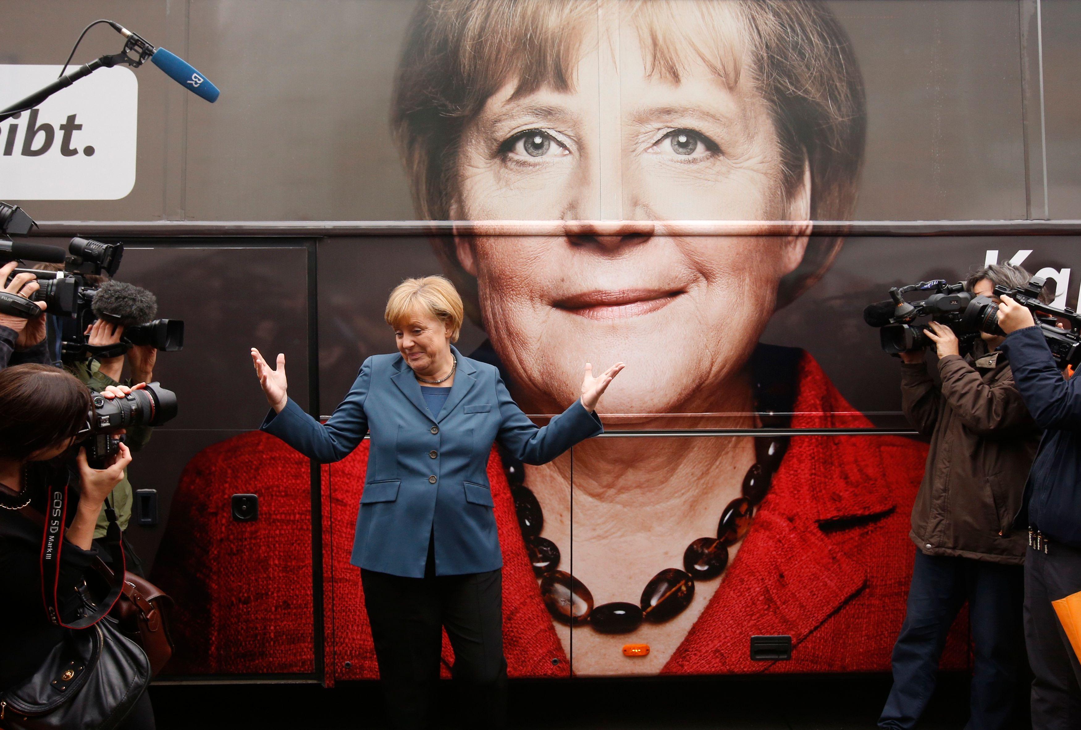 Angela Merkel vise un 4ème mandat
