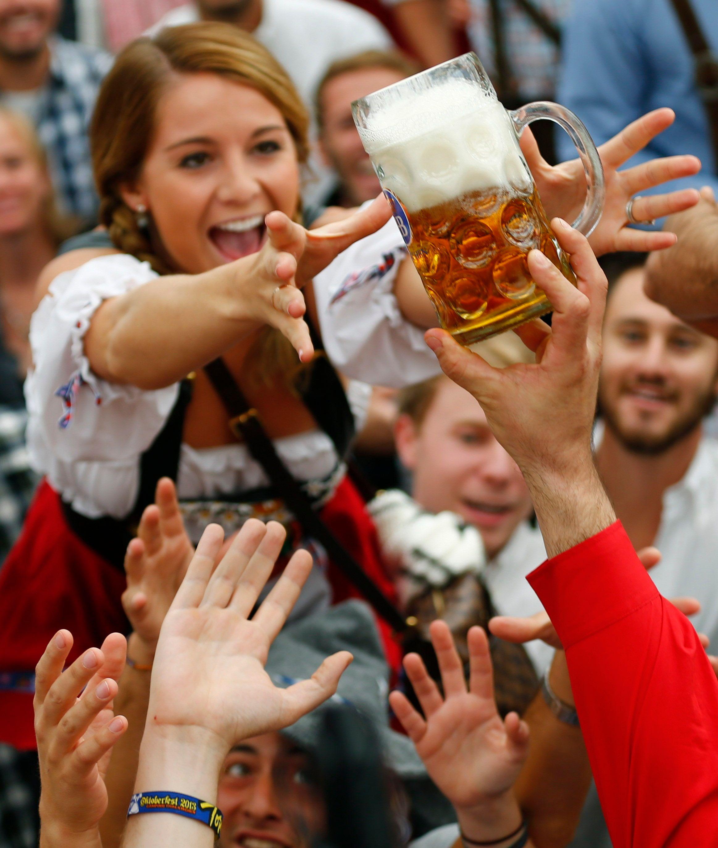 Munich : la fête de la bière s'ouvre sous haute-surveillance