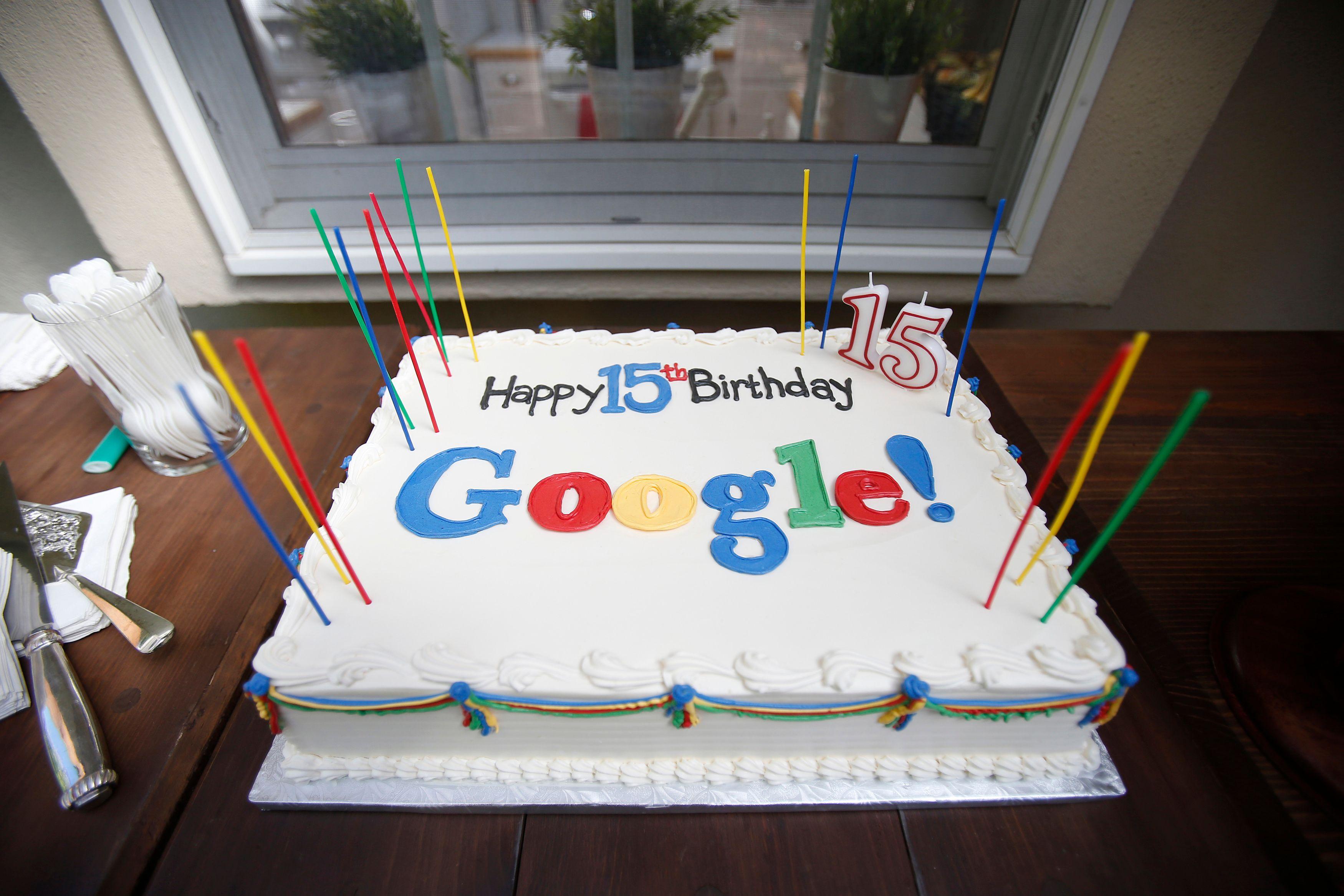 Google fête ses 15 ans d'existence ce 27 septembre 2013