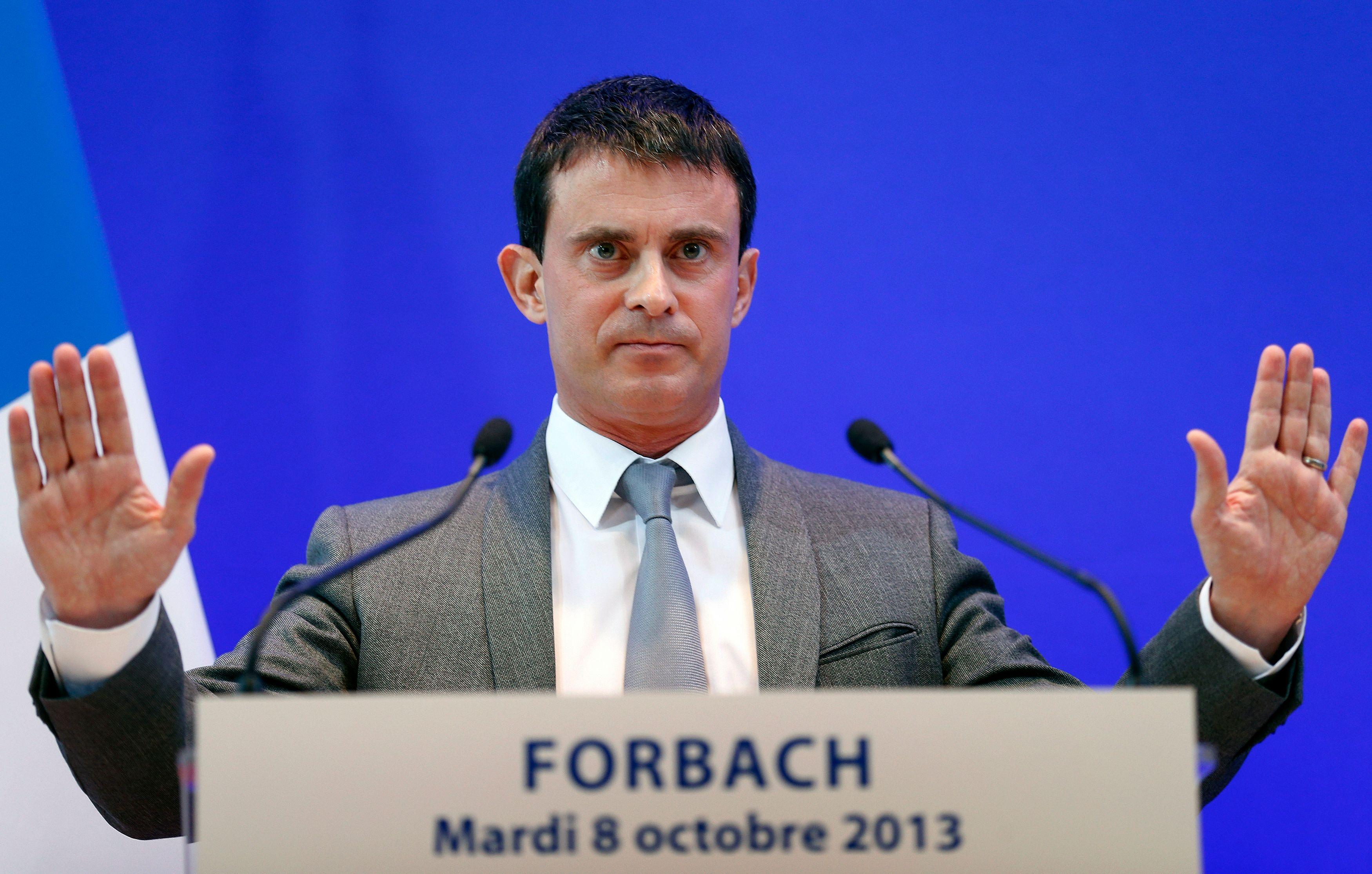Manuel Valls reste ferme