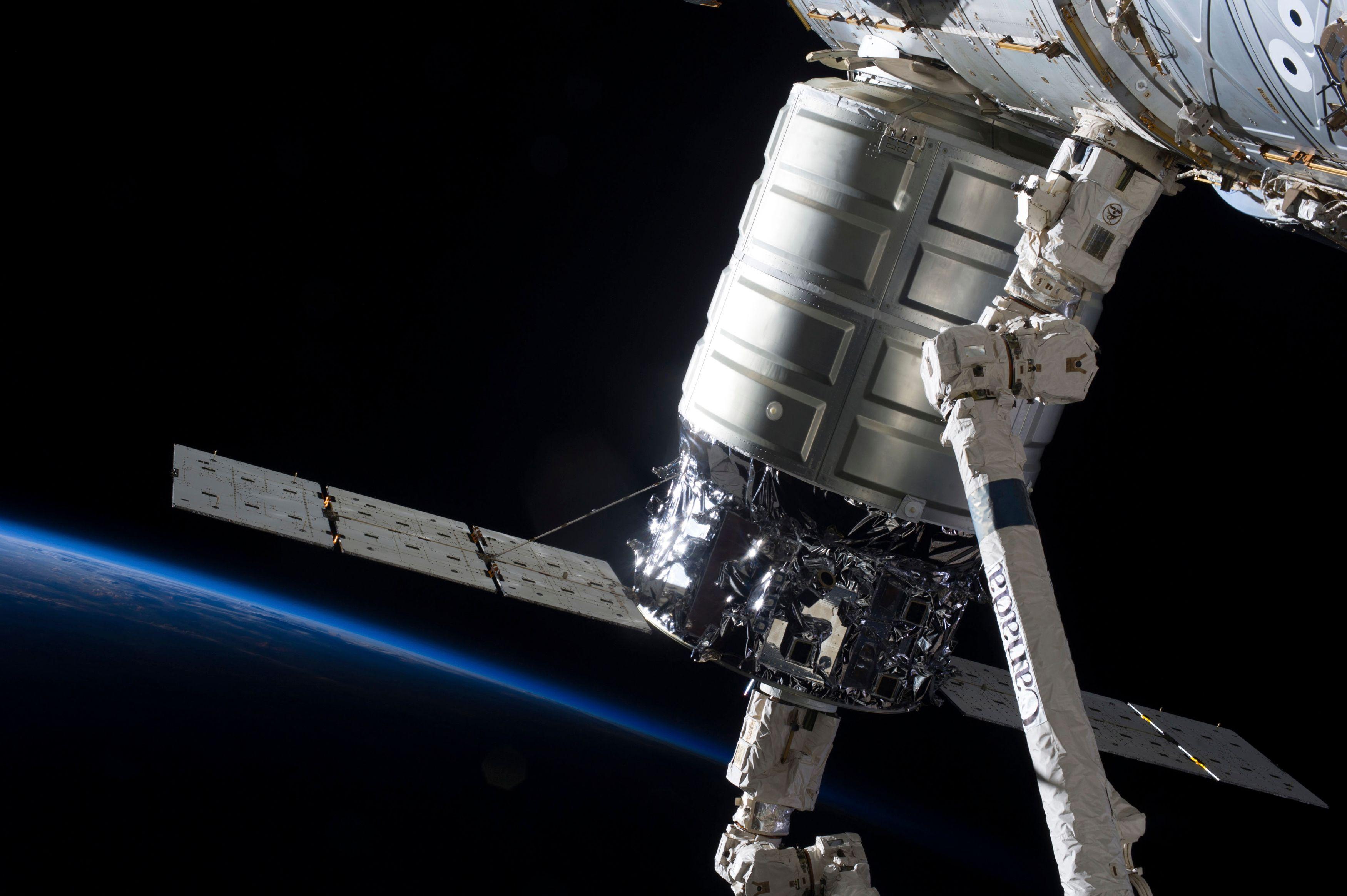 Cygnus : la capsule a quitté l'ISS et sera détruite ce mercredi