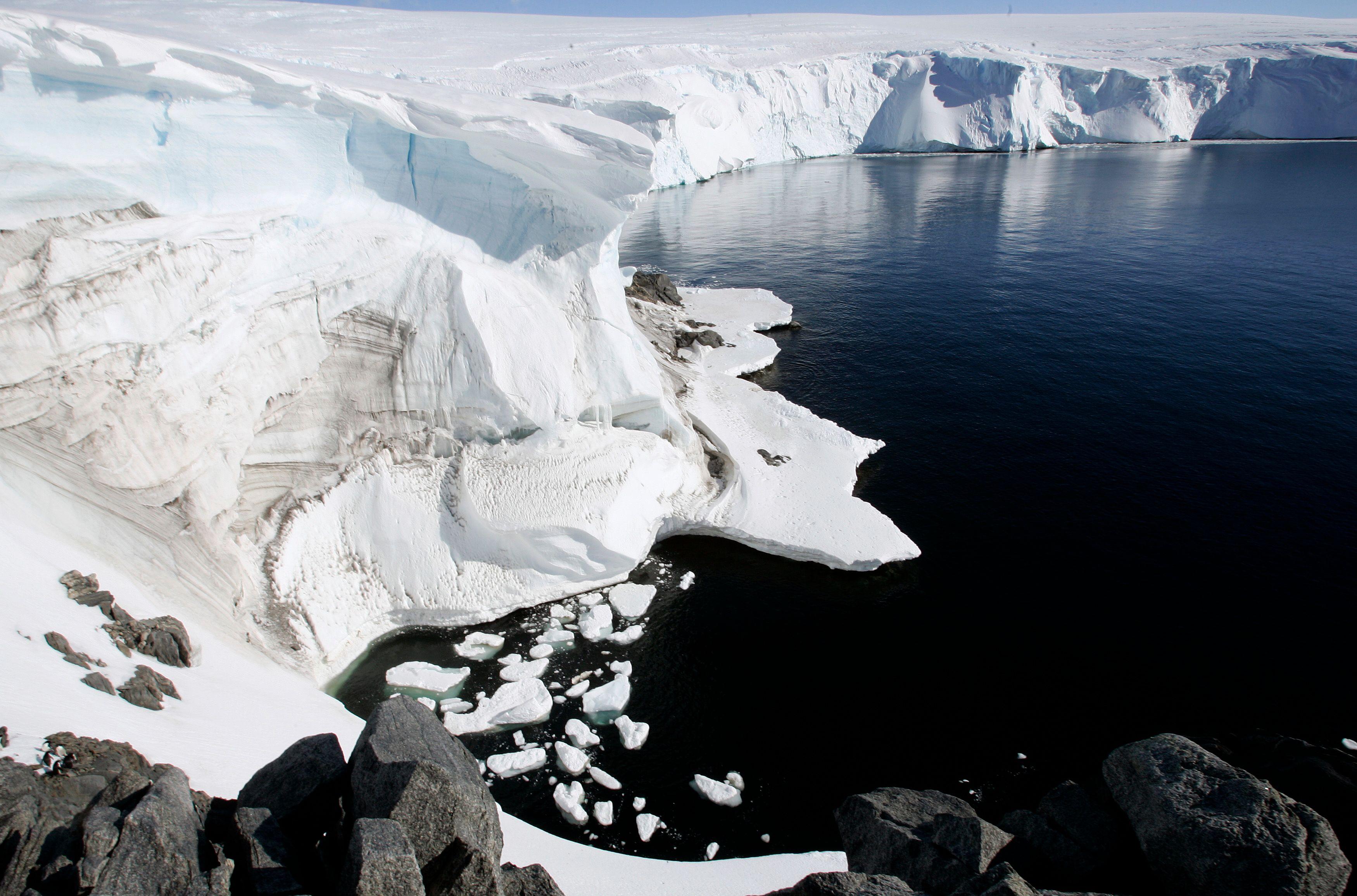 L'aventurière a traversé l'Antarctique a 10 km/h de moyenne.