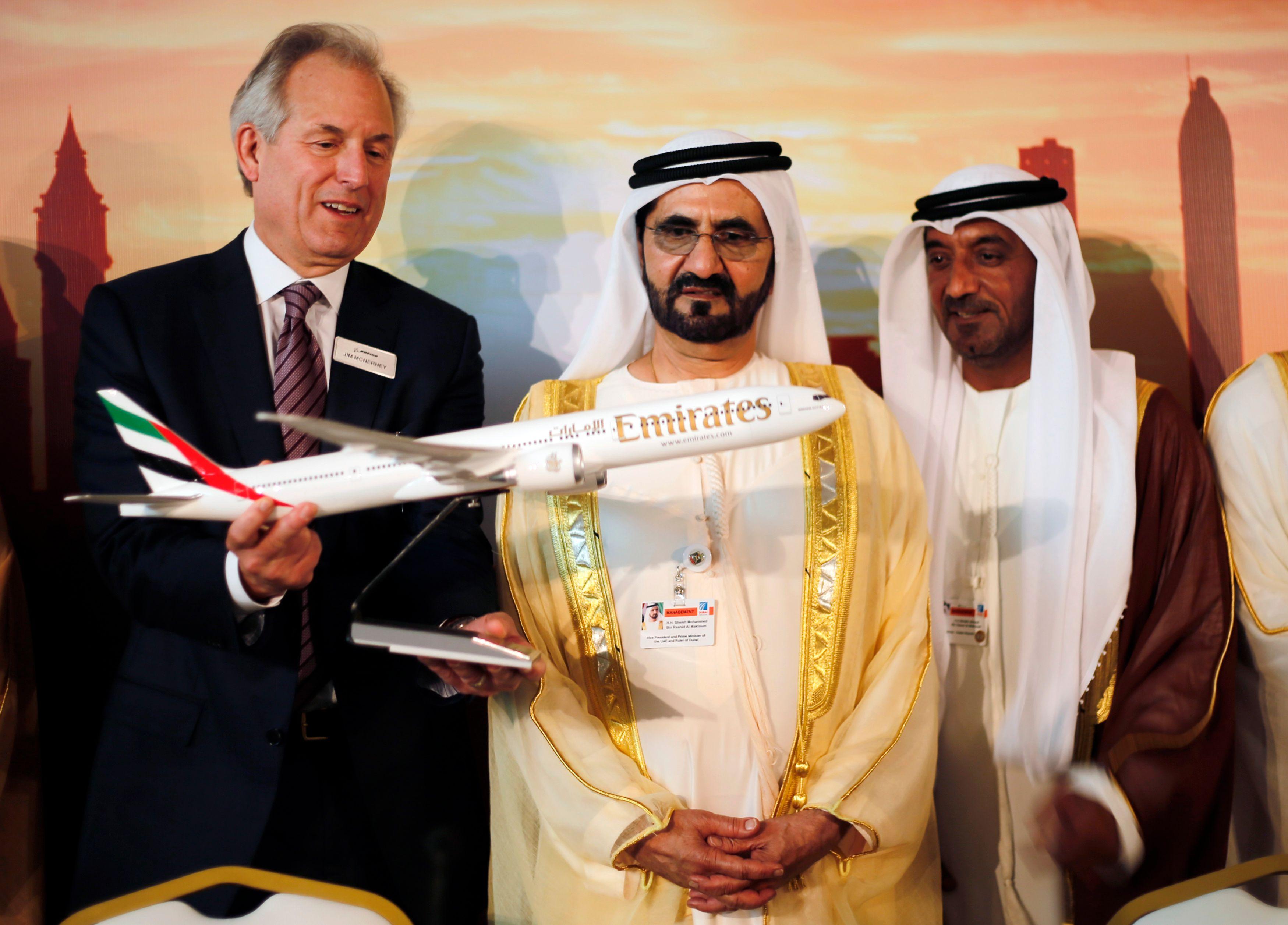 Au Salon de Dubaï, les qataris ont passé des commandes d'avion records, dont une à près de 100 milliards pour Emirates