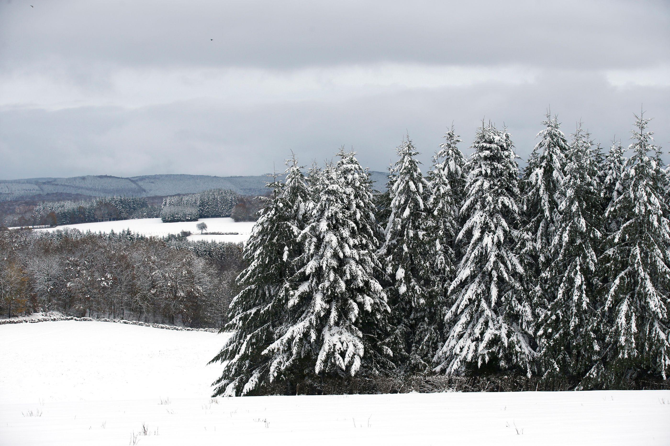 Il a encore neigé en France dans la nuit de vendredi à samedi
