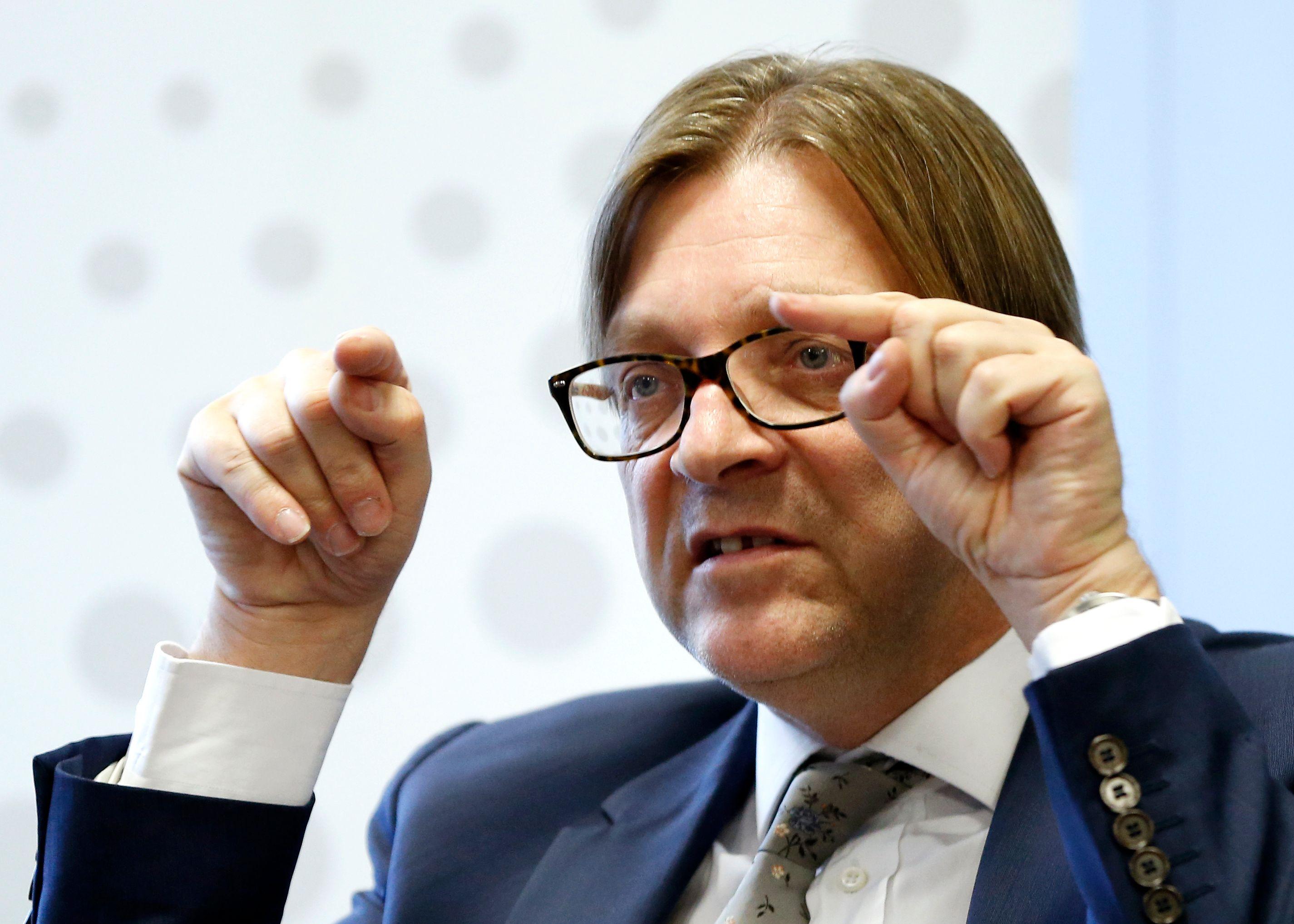 """Guy Verhofstadt : """"Il faut un second bond en avant en utilisant l'échelle européenne comme moteur de croissance"""""""