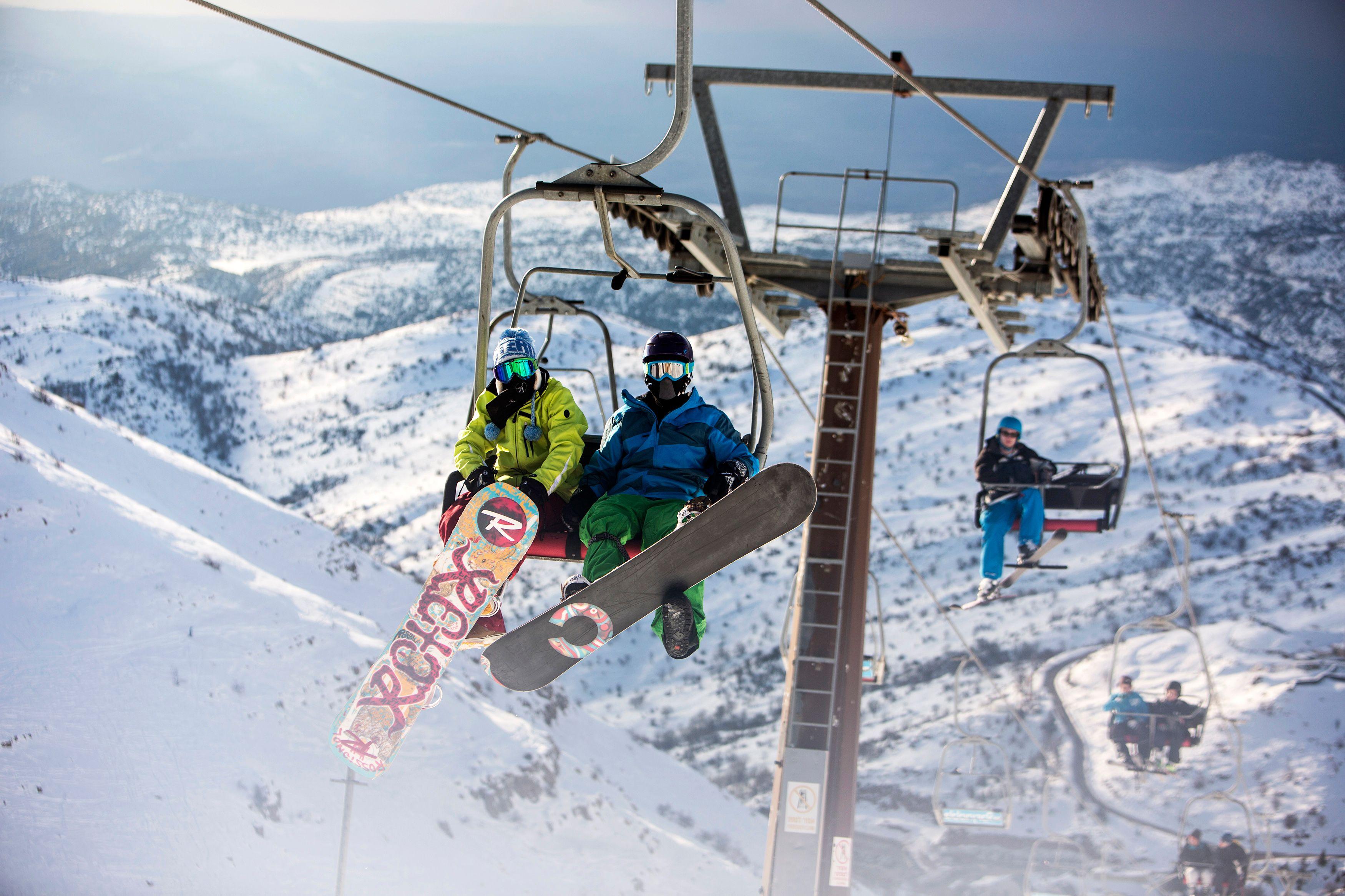 Boire ou skier, il faut choisir.