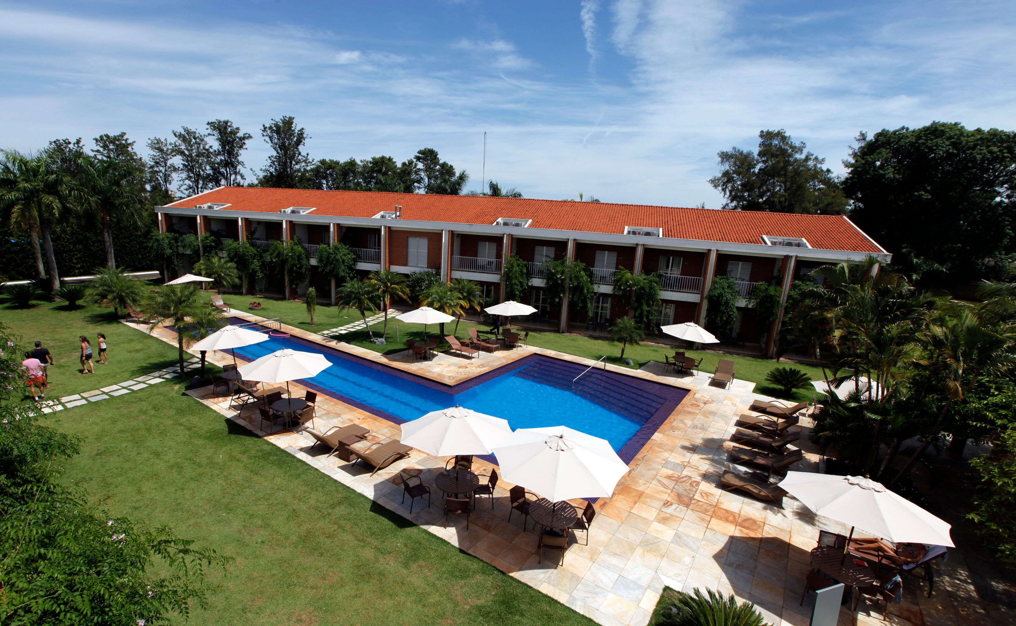L'hôtel des Bleus au Brésil