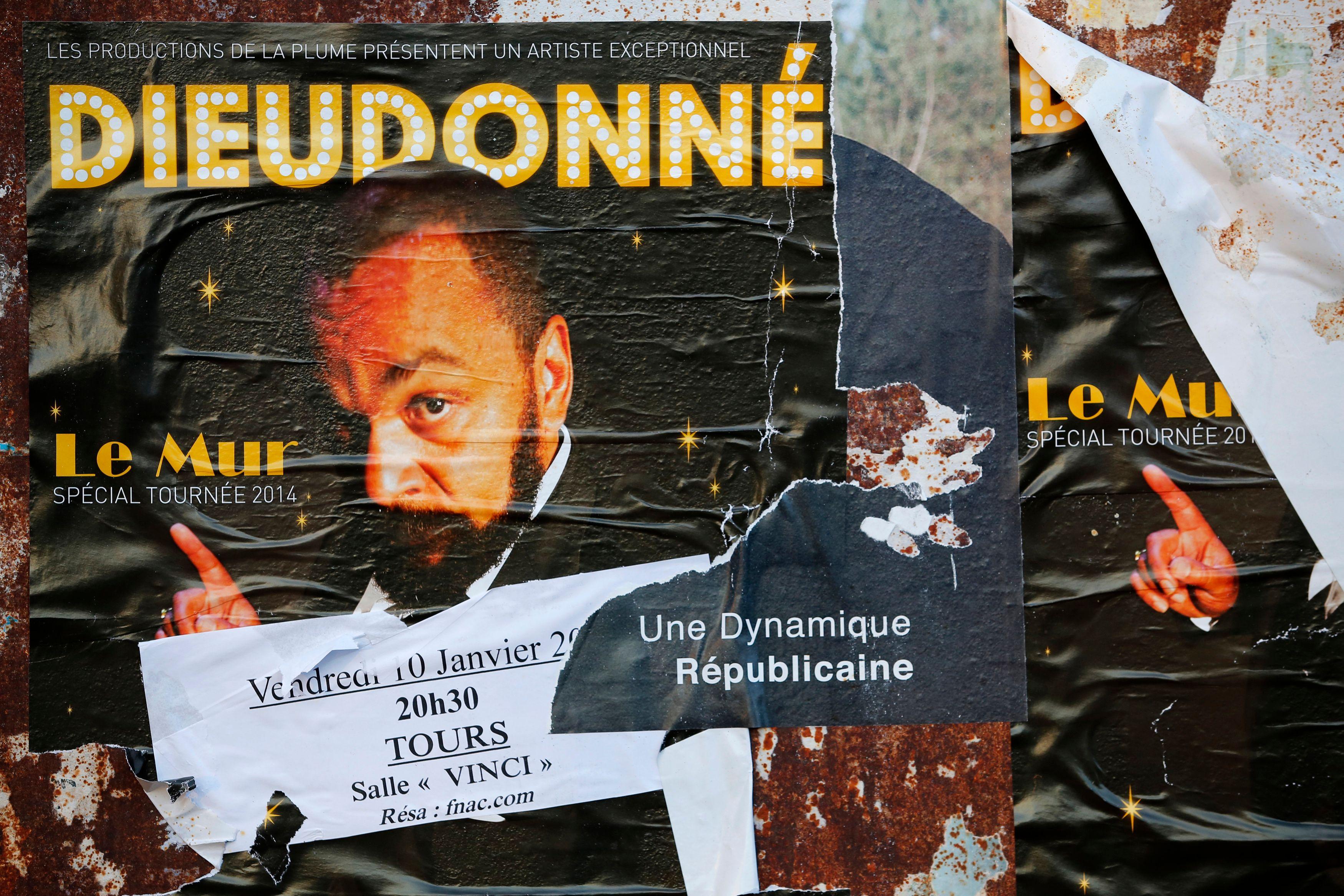 Le préfet de police de Paris a interdit par arrêté trois prochains spectacles de Dieudonné